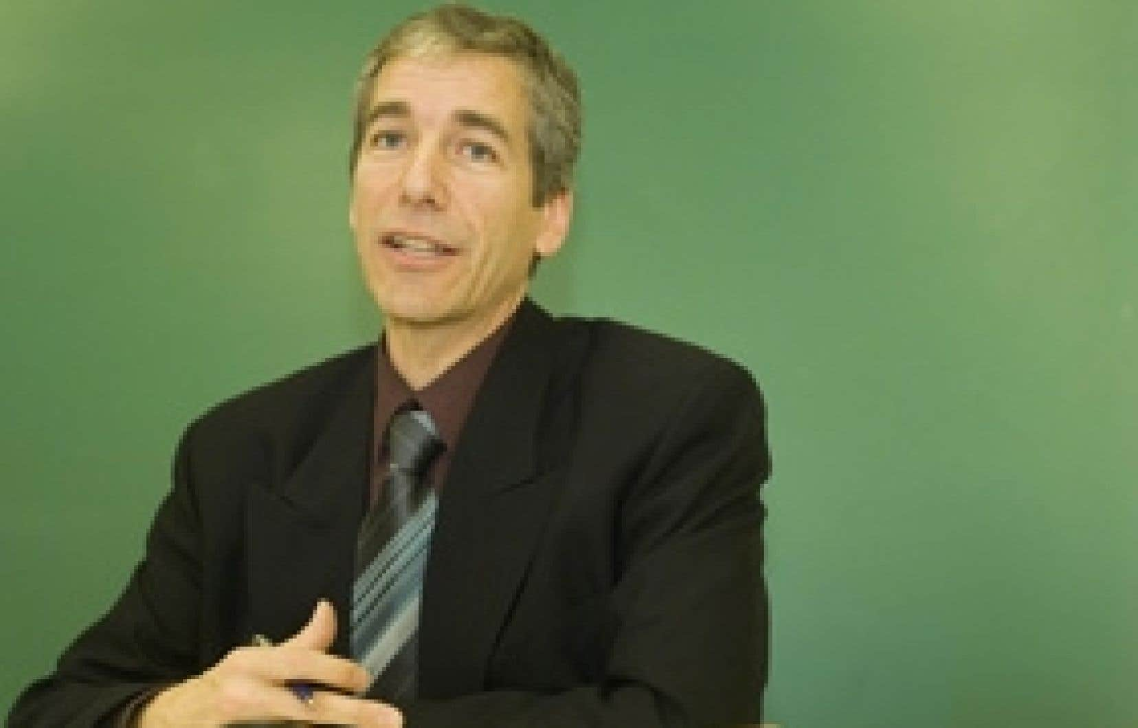 Guy Rainville, du Parti vert du Québec