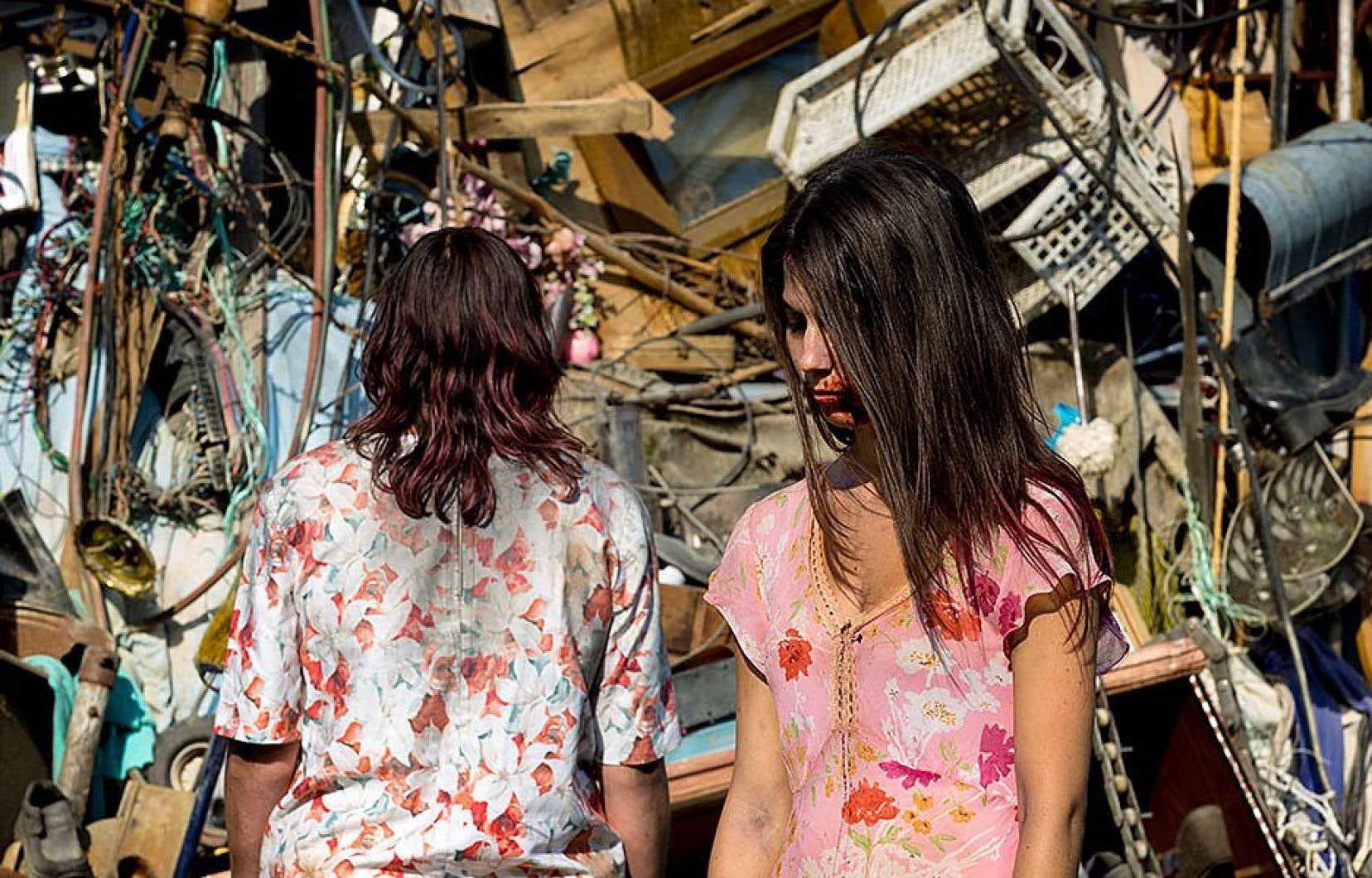 Robin Aubert, avec «Les affamés», a impressionné le jury par son œuvre hybride d'art et d'essai qui raconte l'histoire d'humains survivants traqués par des vampires zombies.