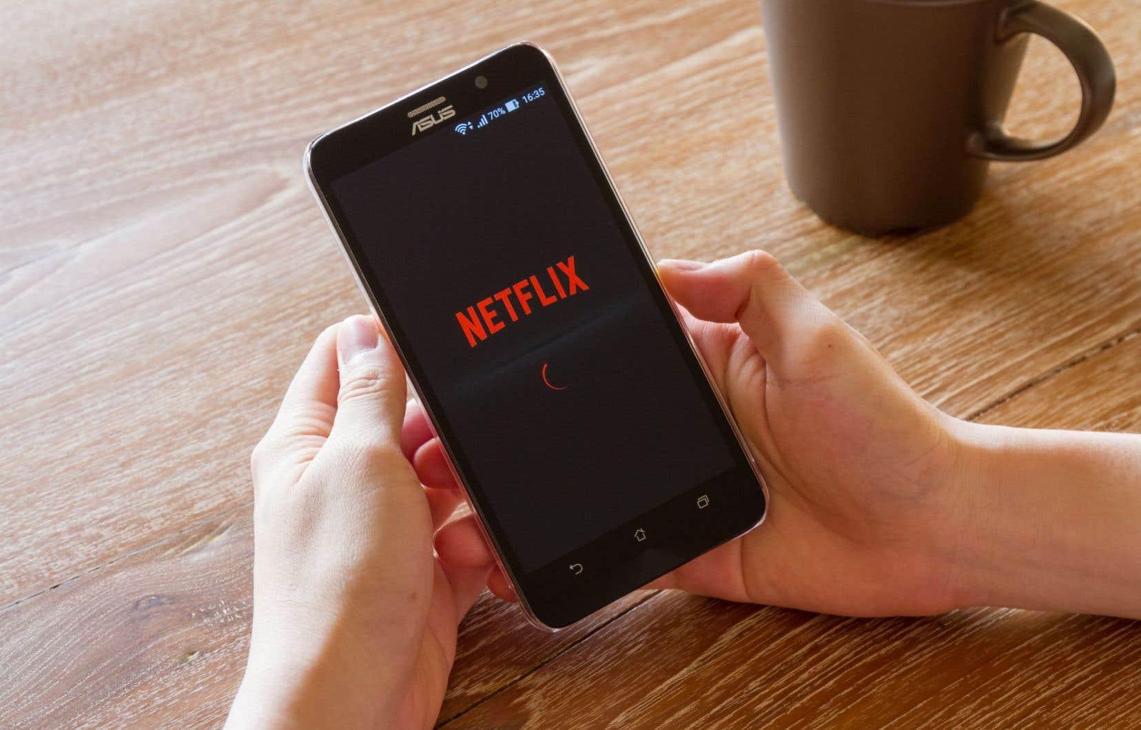 «Netflix devrait être taxé au même titre que Tou.tv ou d'autres distributeurs de contenu culturel», demande l'auteur.