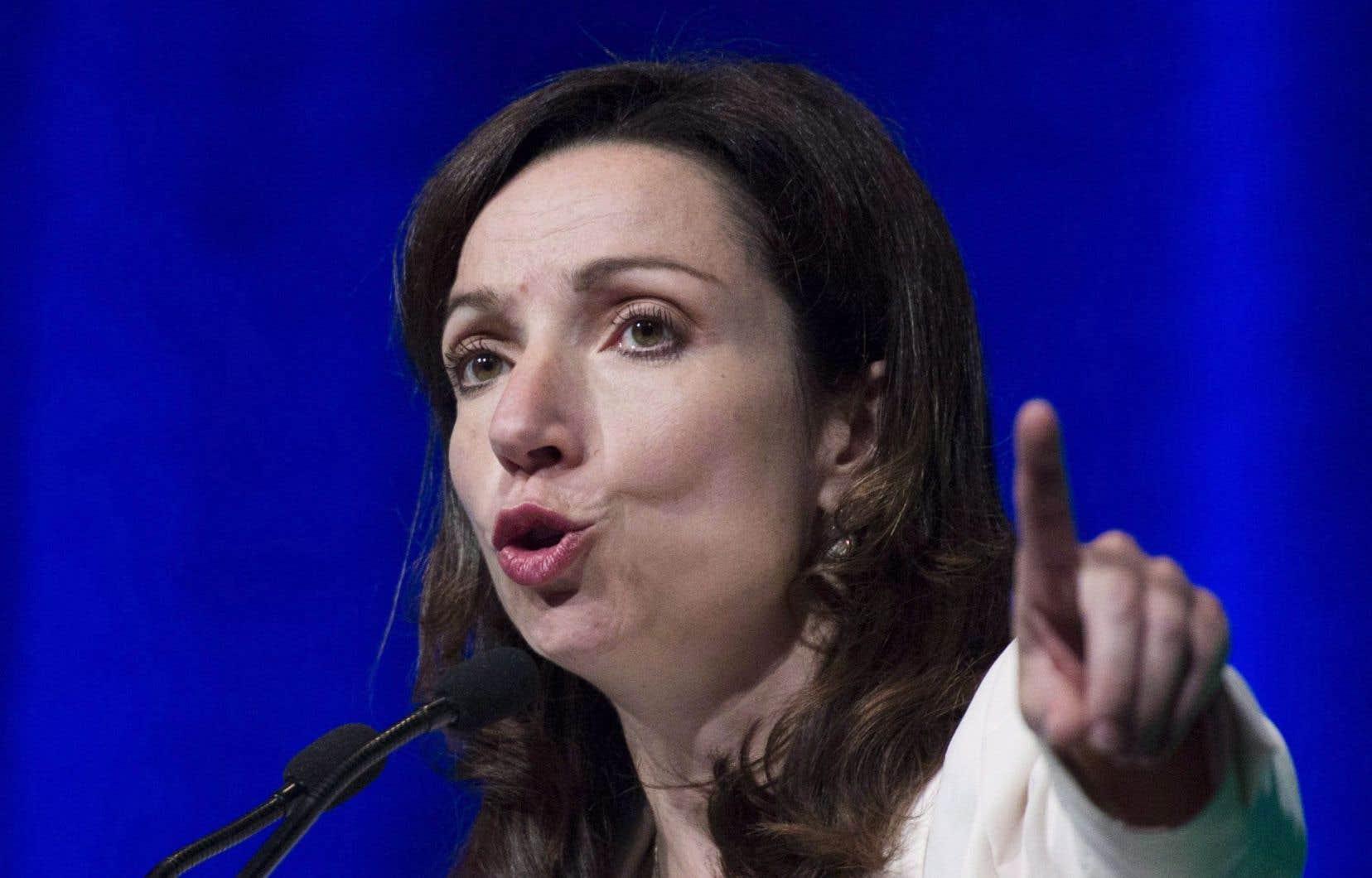 La chef bloquiste Martine Ouellet