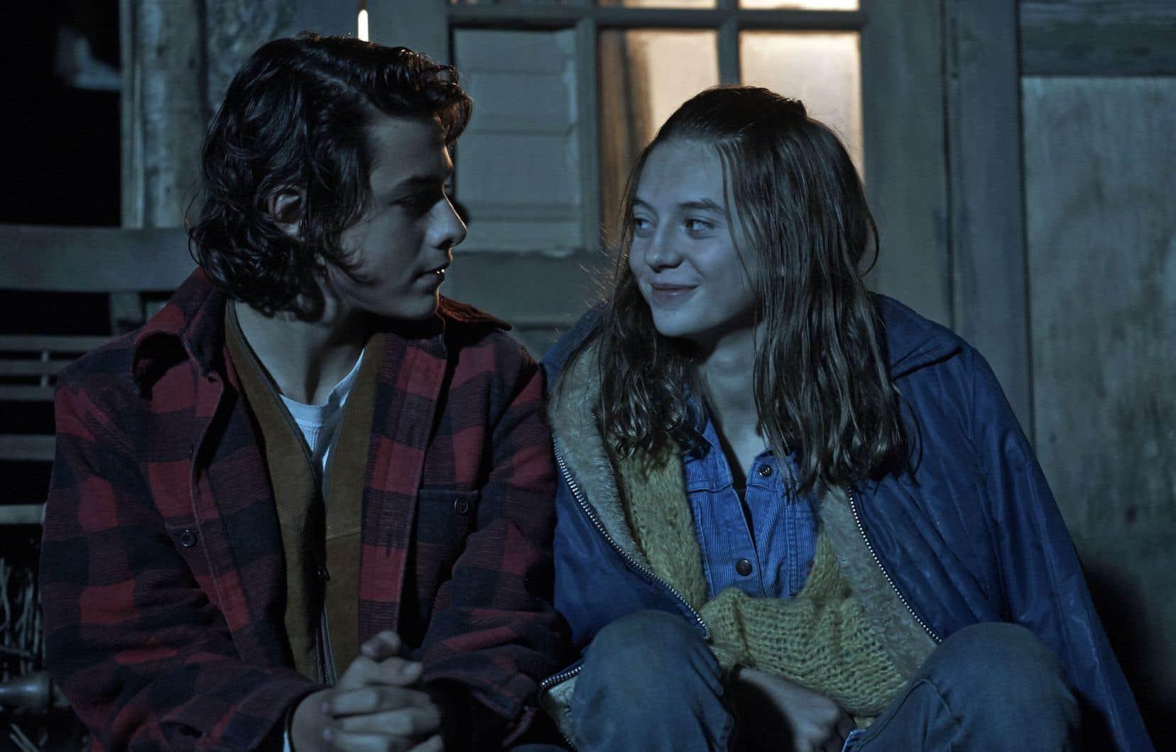 Dans ce film, les jeunes acteurs ne manquent pas de conviction.