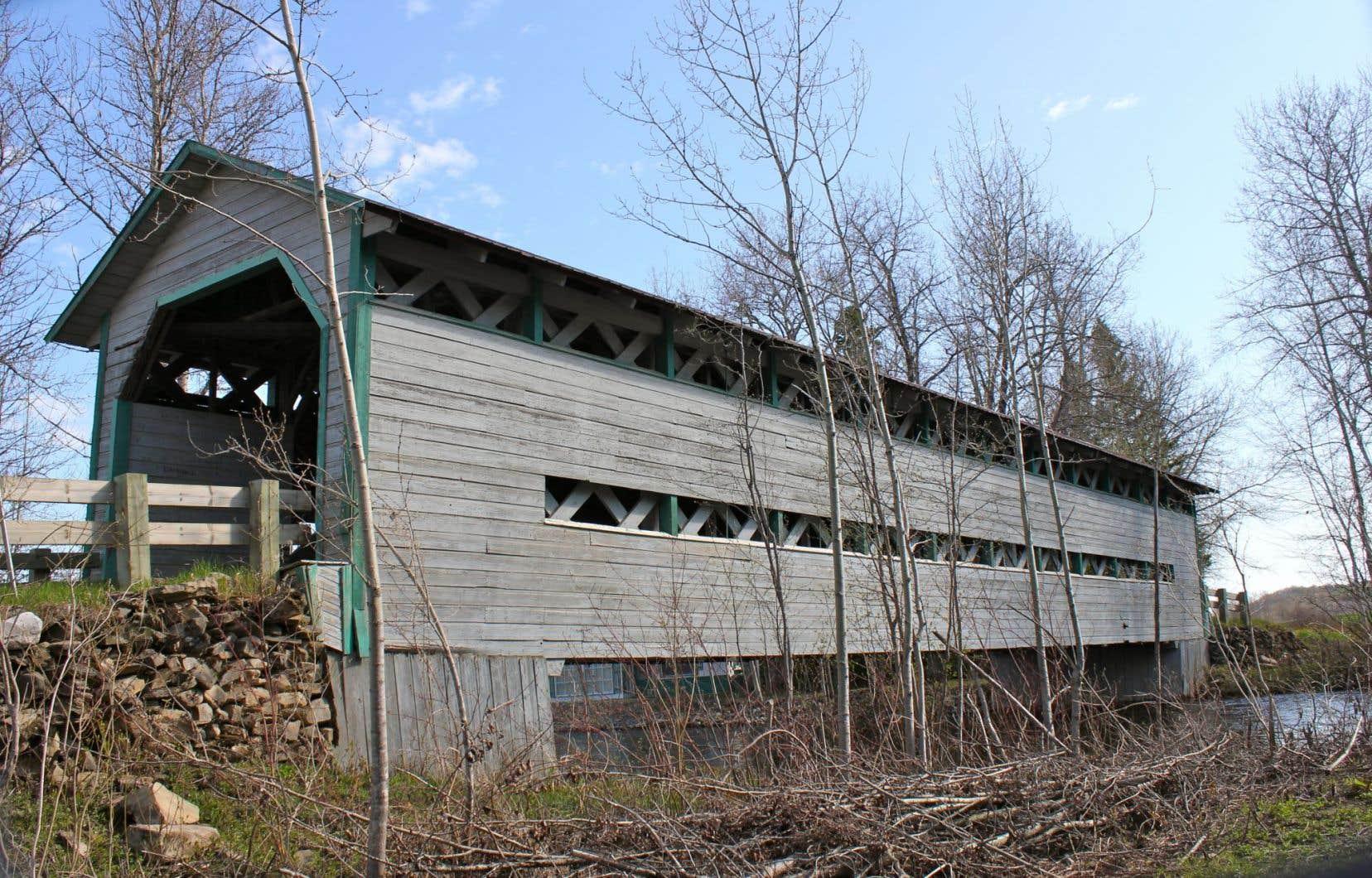 Le pont de Saint-Anaclet, près de Rimouski, permettait de franchir la rivière Neigette depuis 120ans.