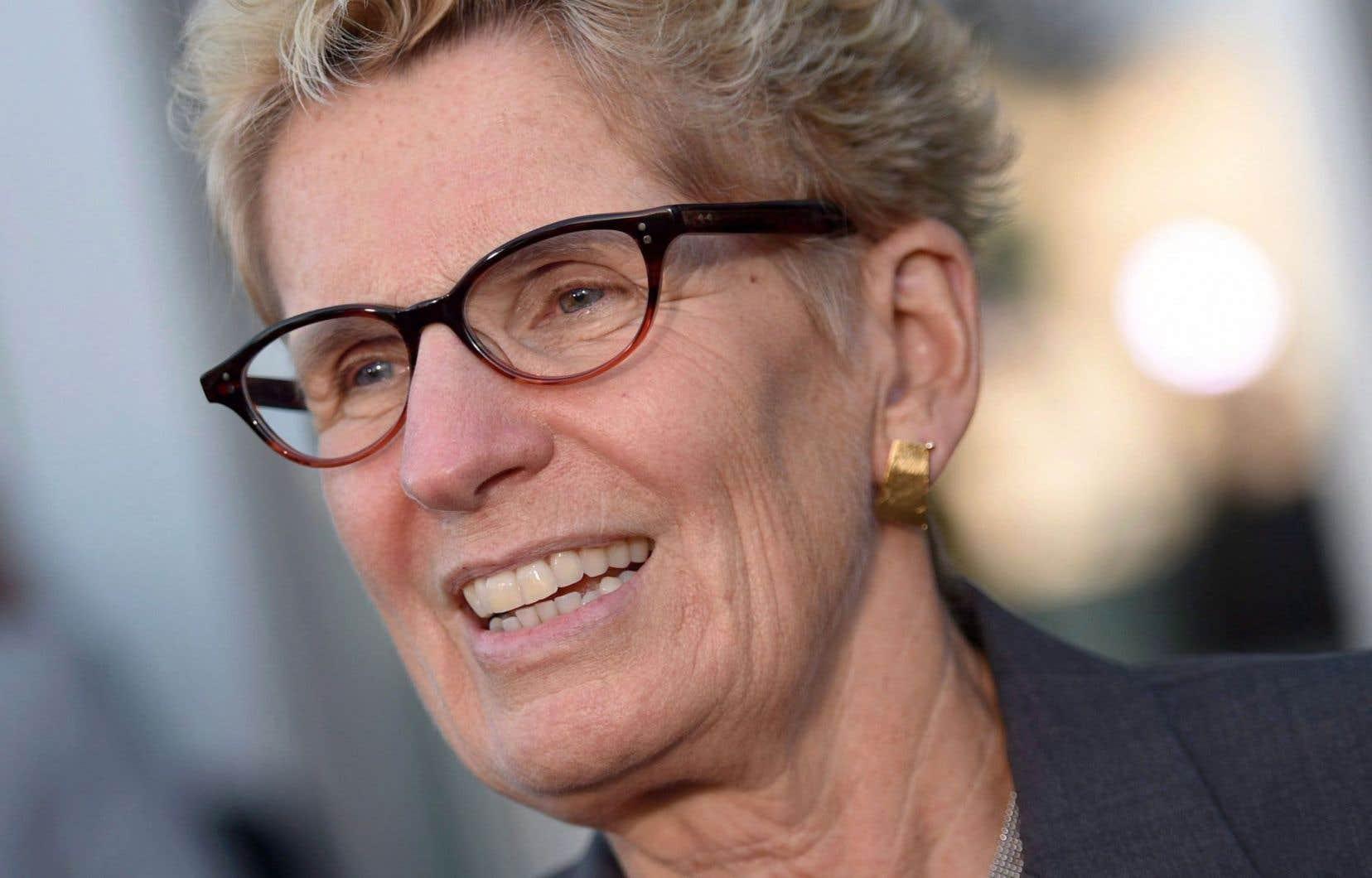 La première ministre ontarienne, Kathleen Wynne