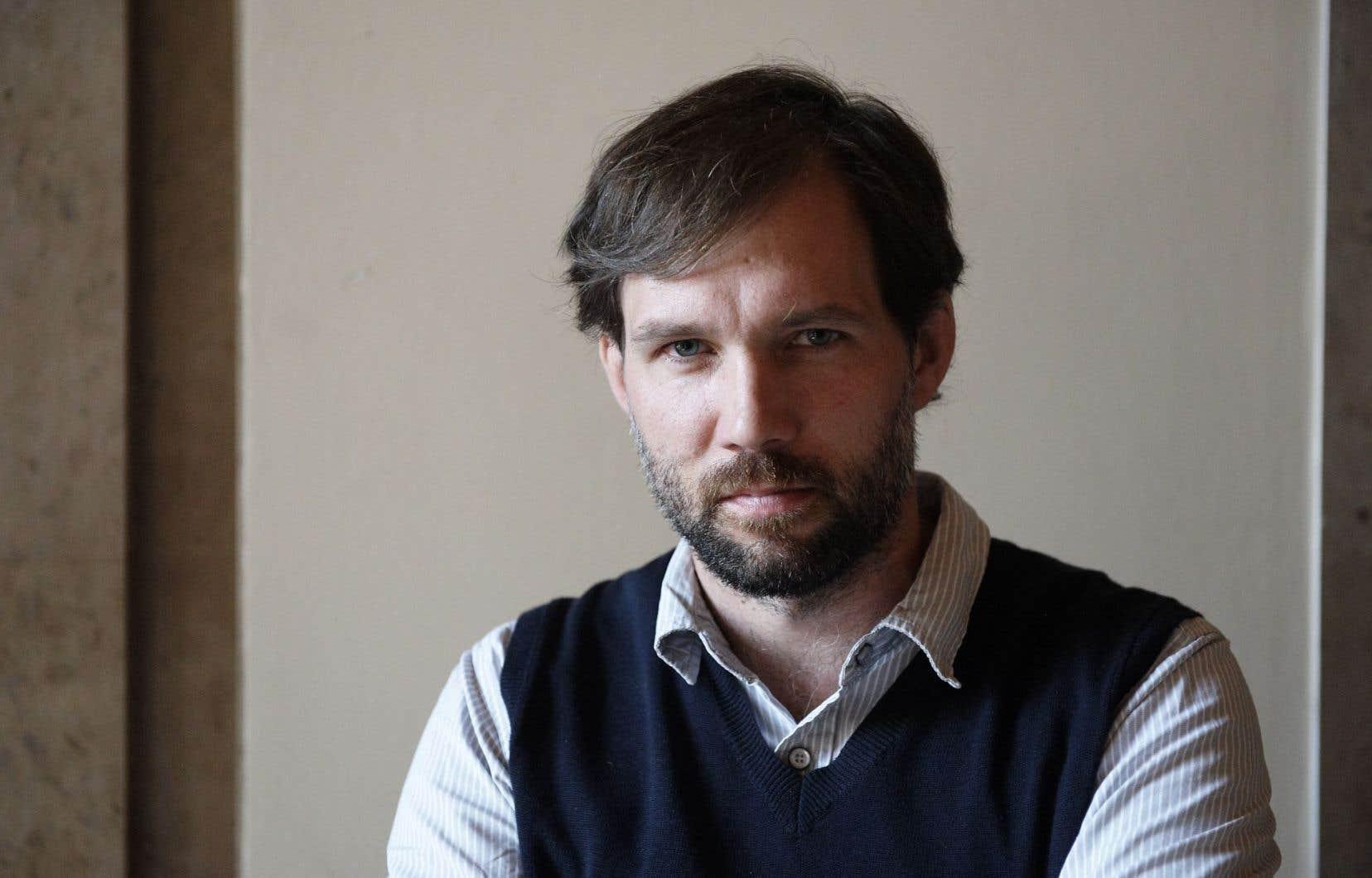 Le compositeur Julien Bilodeau