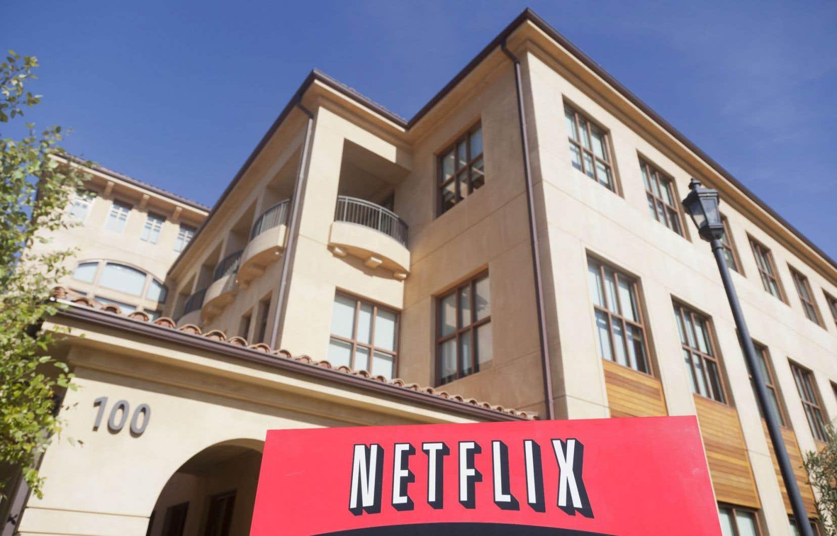 L'entente qui aurait été signée ne concerne que Netflix.