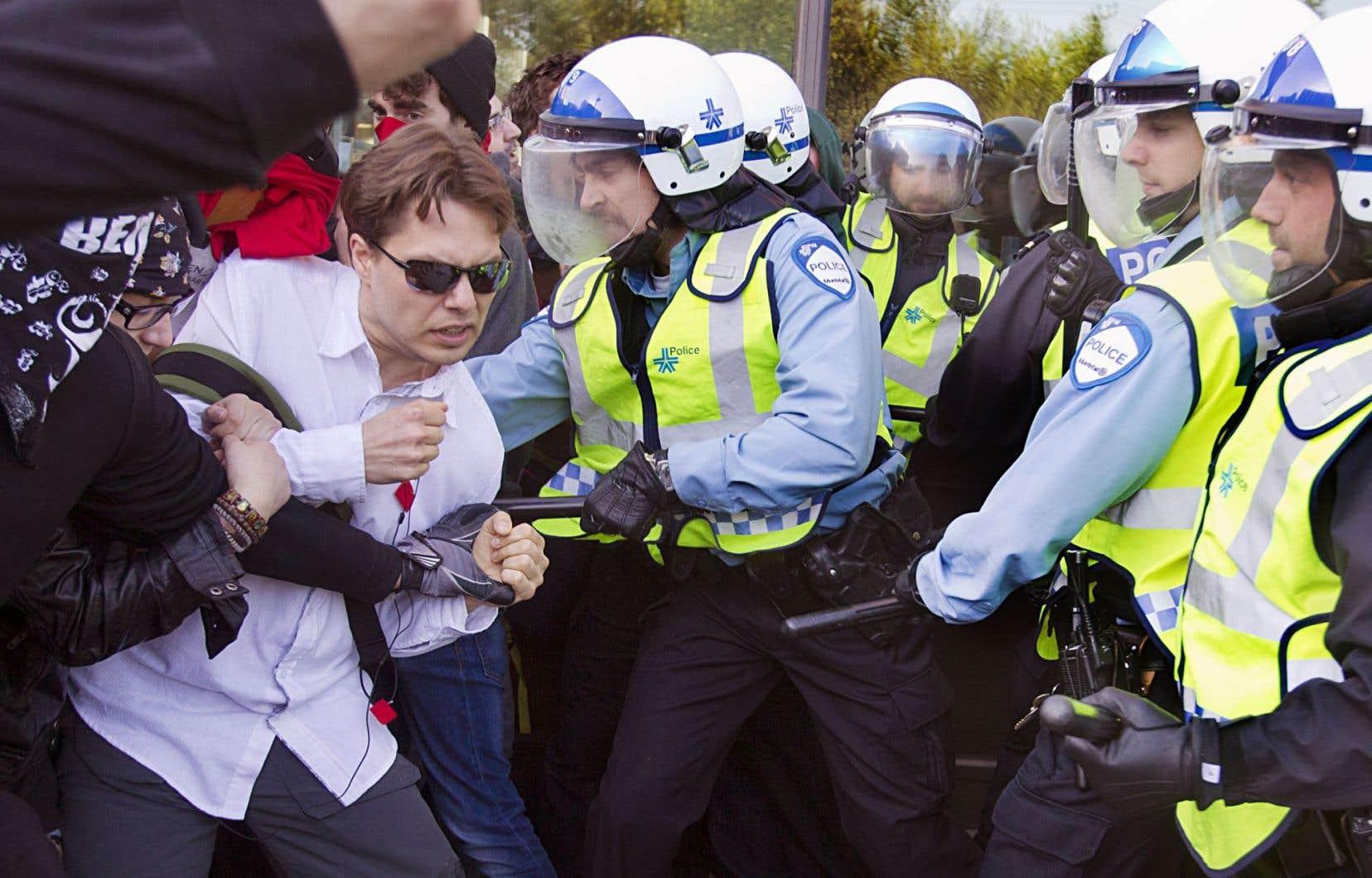 Les interventions policières menées contre des manifestants en 2011, 2012 et 2013 font l'objet d'actions collectives contre la Ville de Montréal.