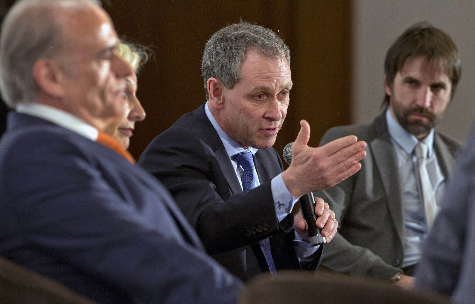 Le patron de l'information à Radio-Canada, Michel Cormier, photographié ici en mai 2014