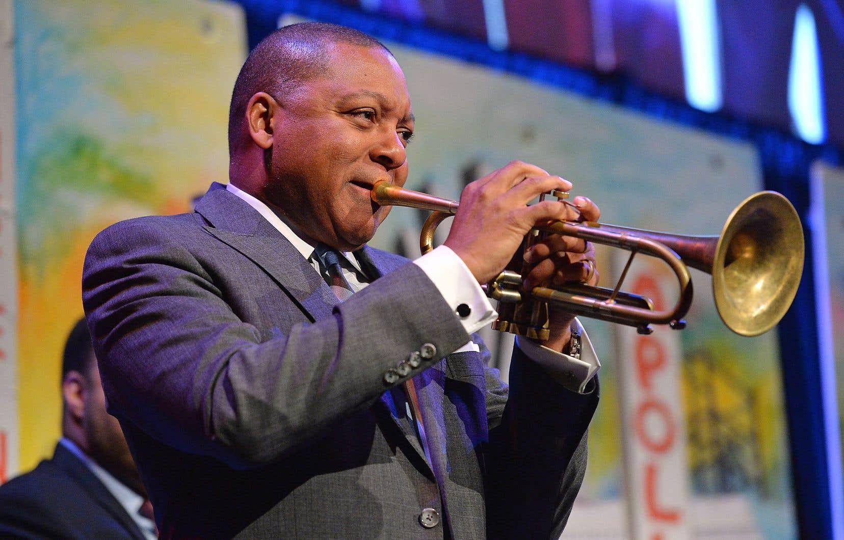Wynton Marsalis rythme sa démarche avec un souci prononcé pour l'histoire des «jazzmen», et surtout des Afro-Américains.