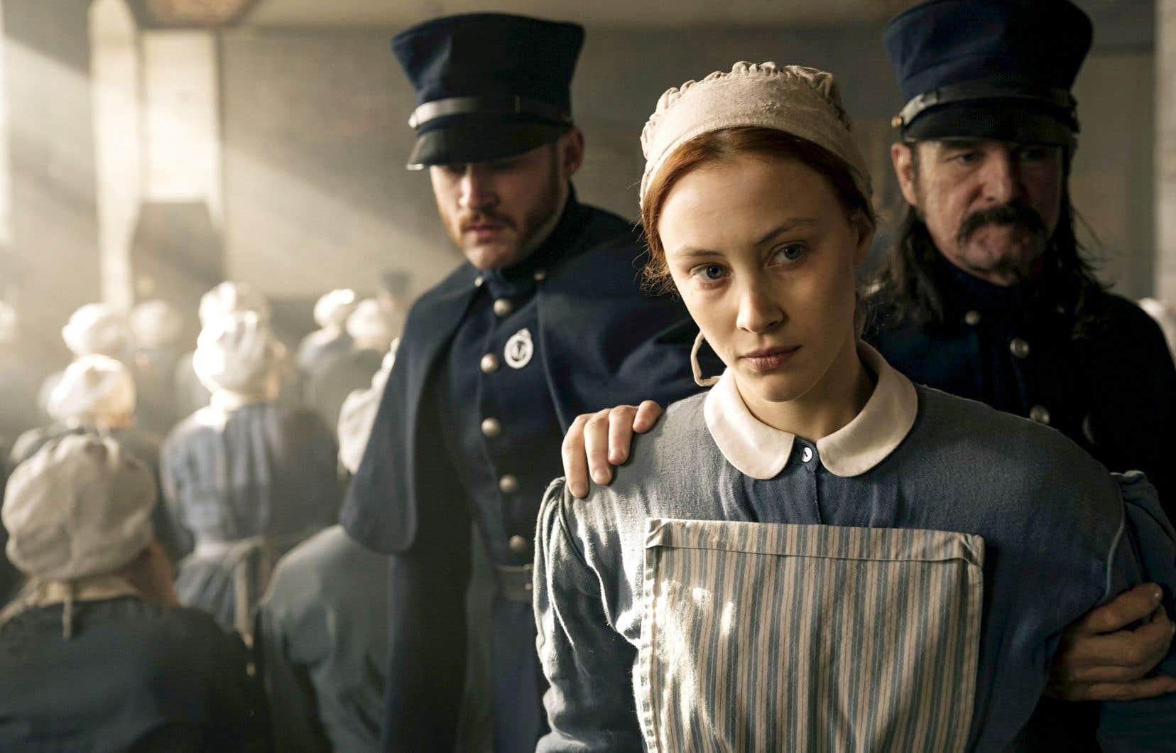 Netflix injectera un demi-milliard sur cinq ans dans la production ou la coproduction d'émissions au pays, comme la nouvelle série «Alias Grace».