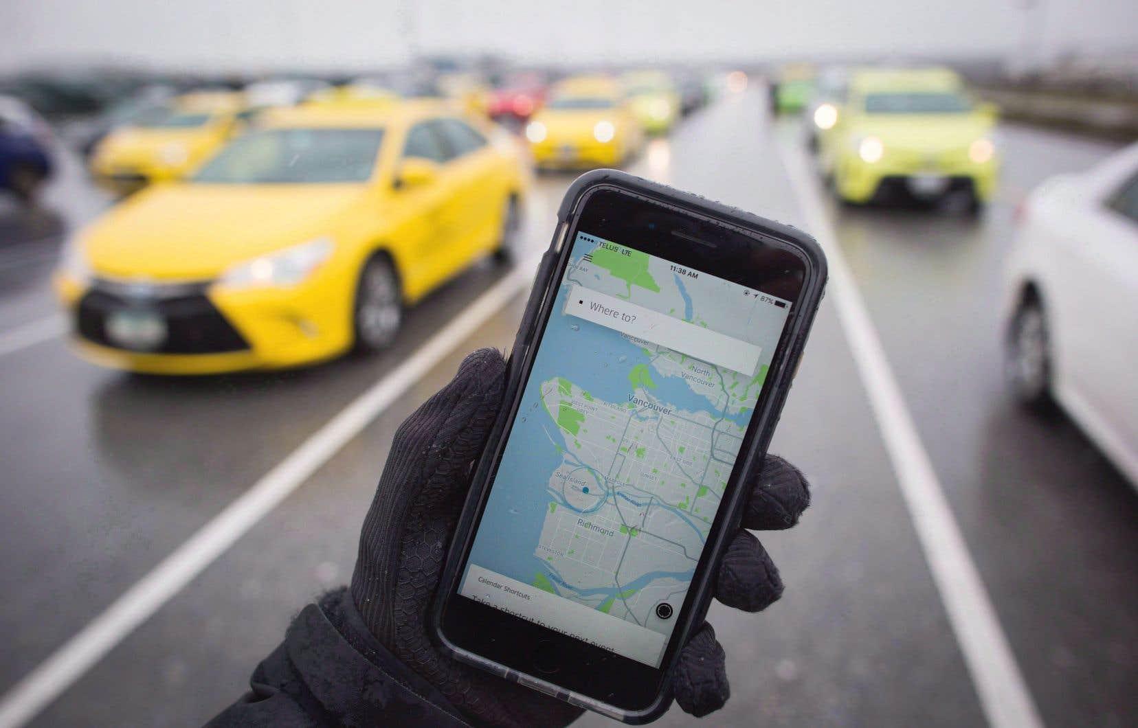 Dans la ville de Vancouver, où la réglementation empêche l'entreprise Uber d'offrir ses services, les compagnies d'autopartage et de covoiturage ont connu un grand essor ces dernières années.