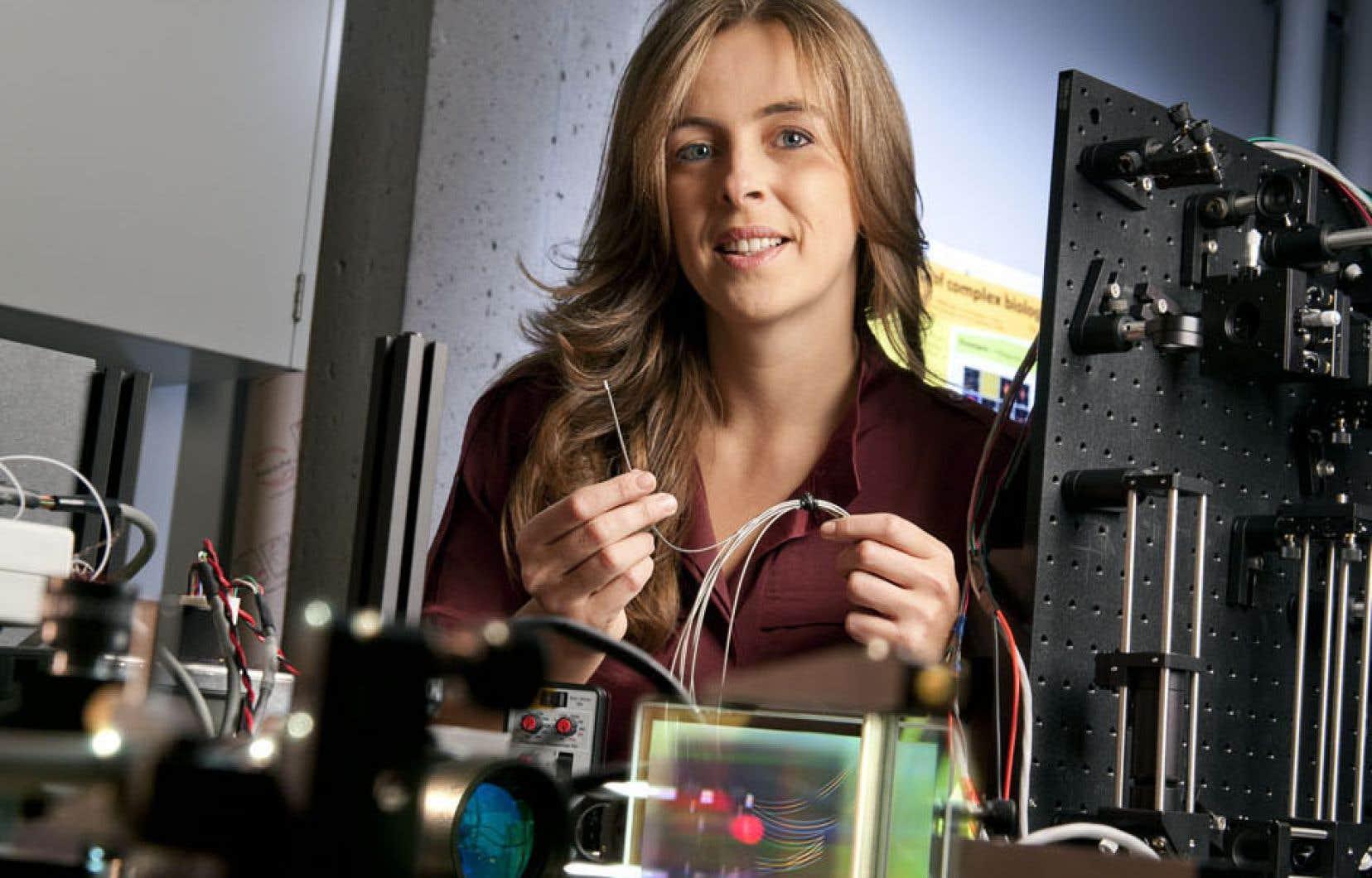 Caroline Boudoux a préféré quitter les grands laboratoires américains anonymes pour rejoindre le LODI en 2007 et avoir une approche plus humaine.