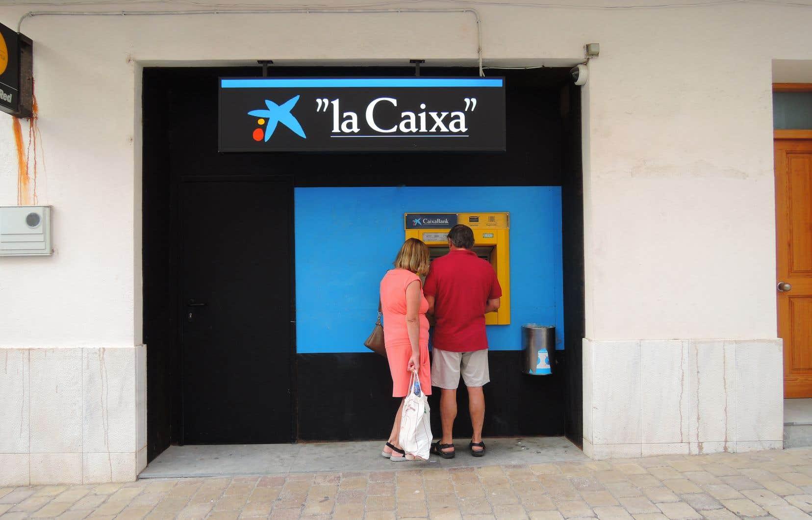 La catalane CaixaBank est la troisième banque espagnole.