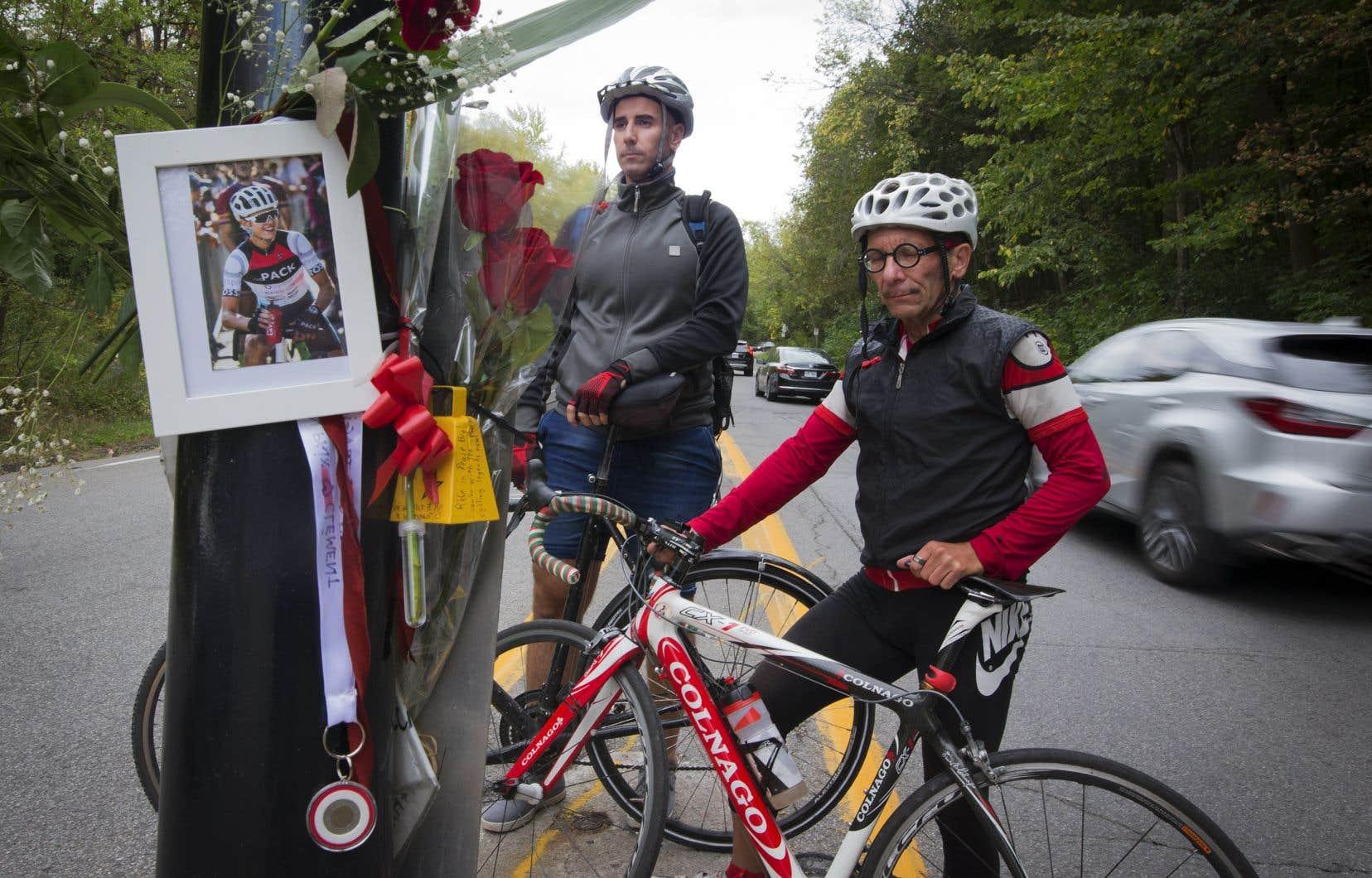 La mort du jeune cycliste âgé de 18 ans relance un autre débat sur la sécurité des déplacements près de la montagne.