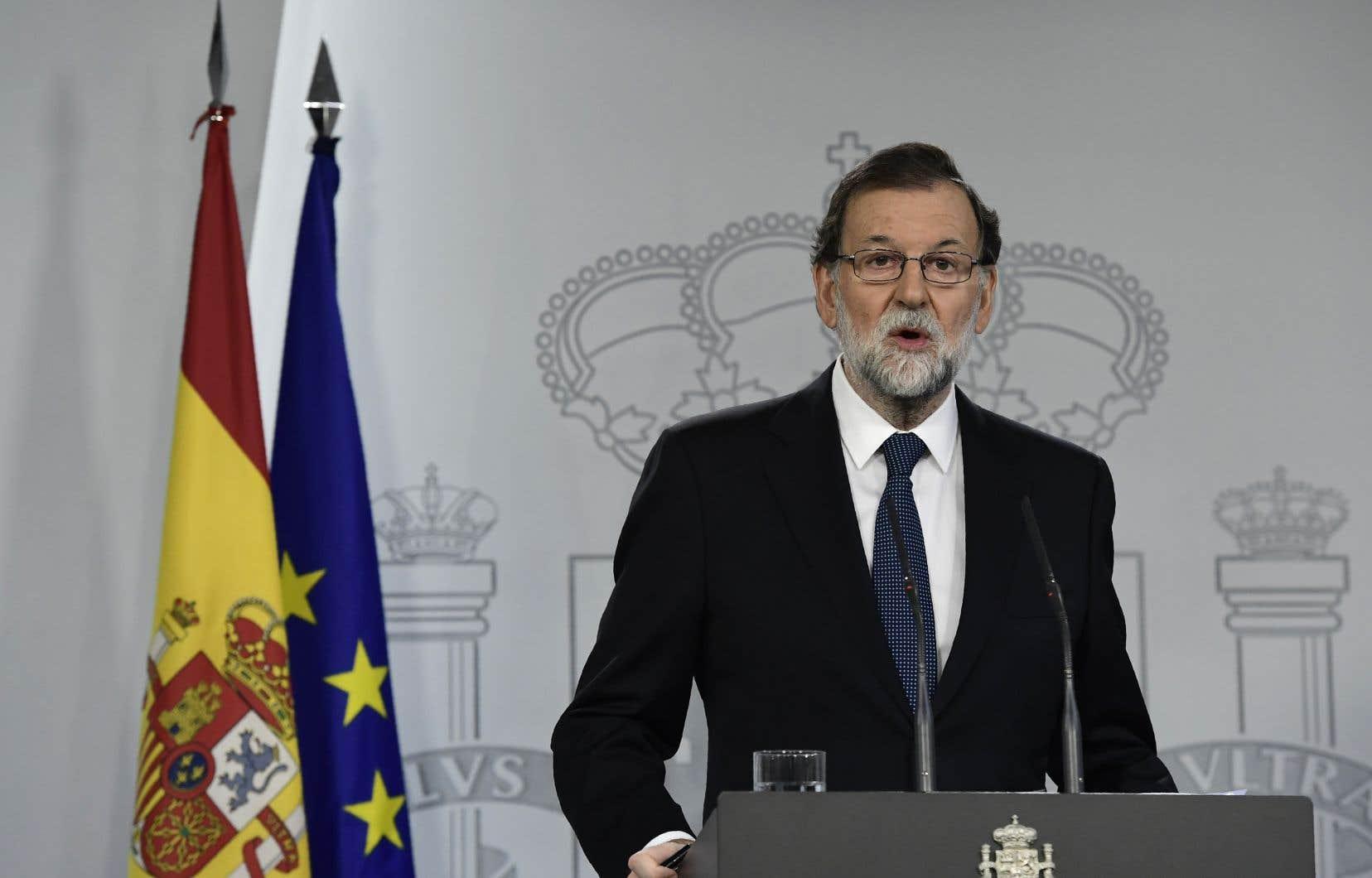 Le premier ministre espagnol, Mariano Rajoy