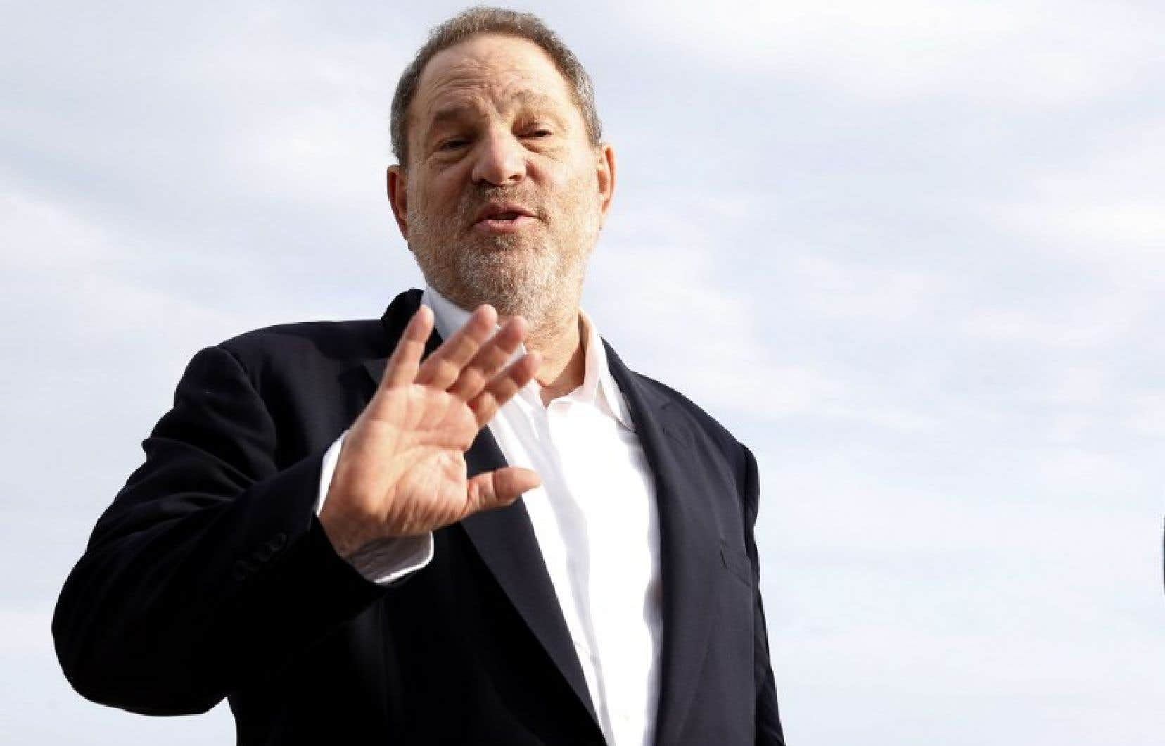 Le producteur Harvey Weinstein