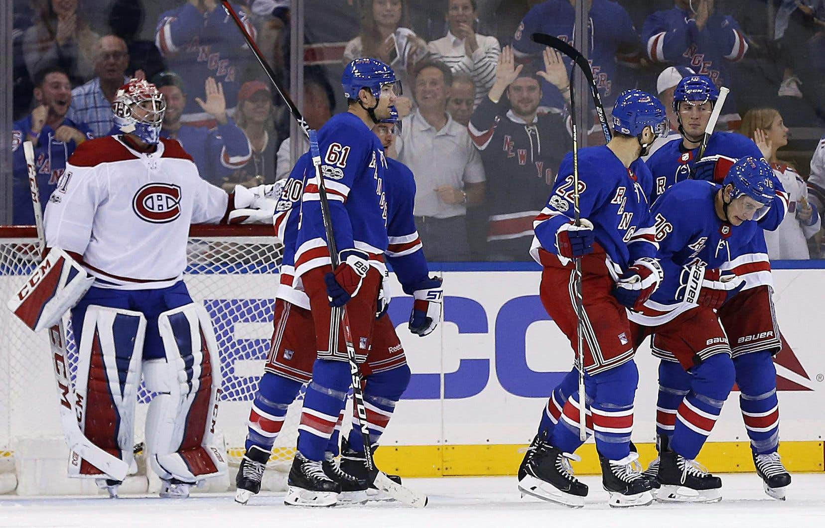 Le Tricolore s'est incliné 2-0 contre les Rangers, au Madison Square Garden dimanche soir.