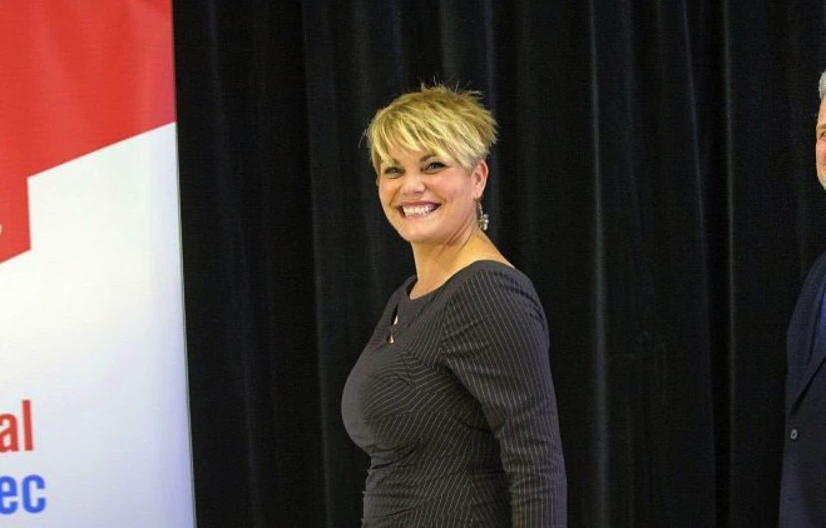 La députée de Verdun, Isabelle Melançon, figure sur la liste d'élus «ministrables».
