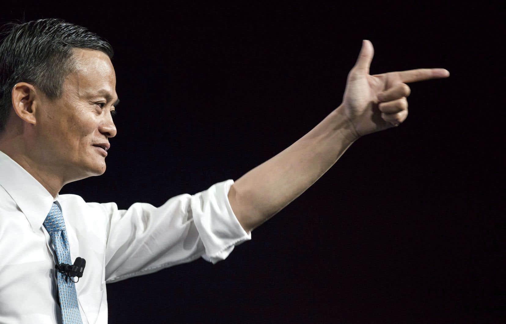 Le centre de recherche d'Alibaba s'inspirera des performances des laboratoires des titans américains de l'informatique IBM et Microsoft, selon le fondateur de la compagnie, Jack Ma.