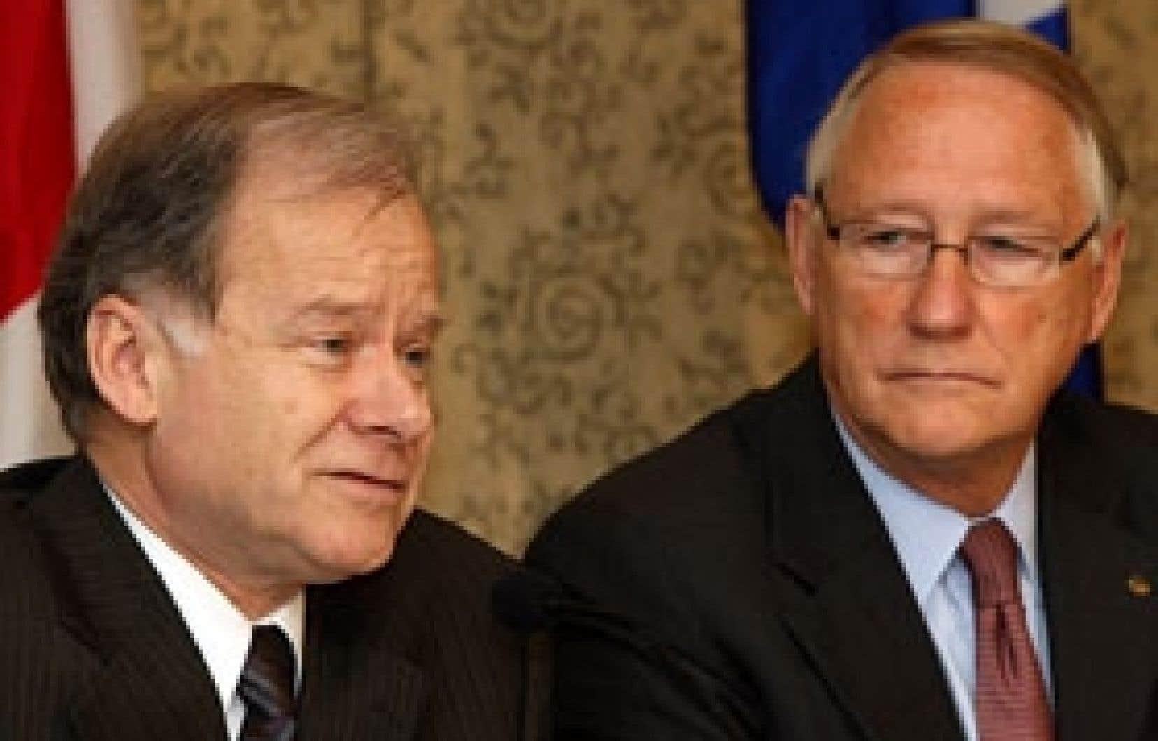 Le ministre du Développement économique, Raymond Bachand, et le maire de Montréal, Gérald Tremblay, ont annoncé en conférence de presse, hier, à Montréal, que le Grand Prix du Canada n'aurait pas lieu en 2009.