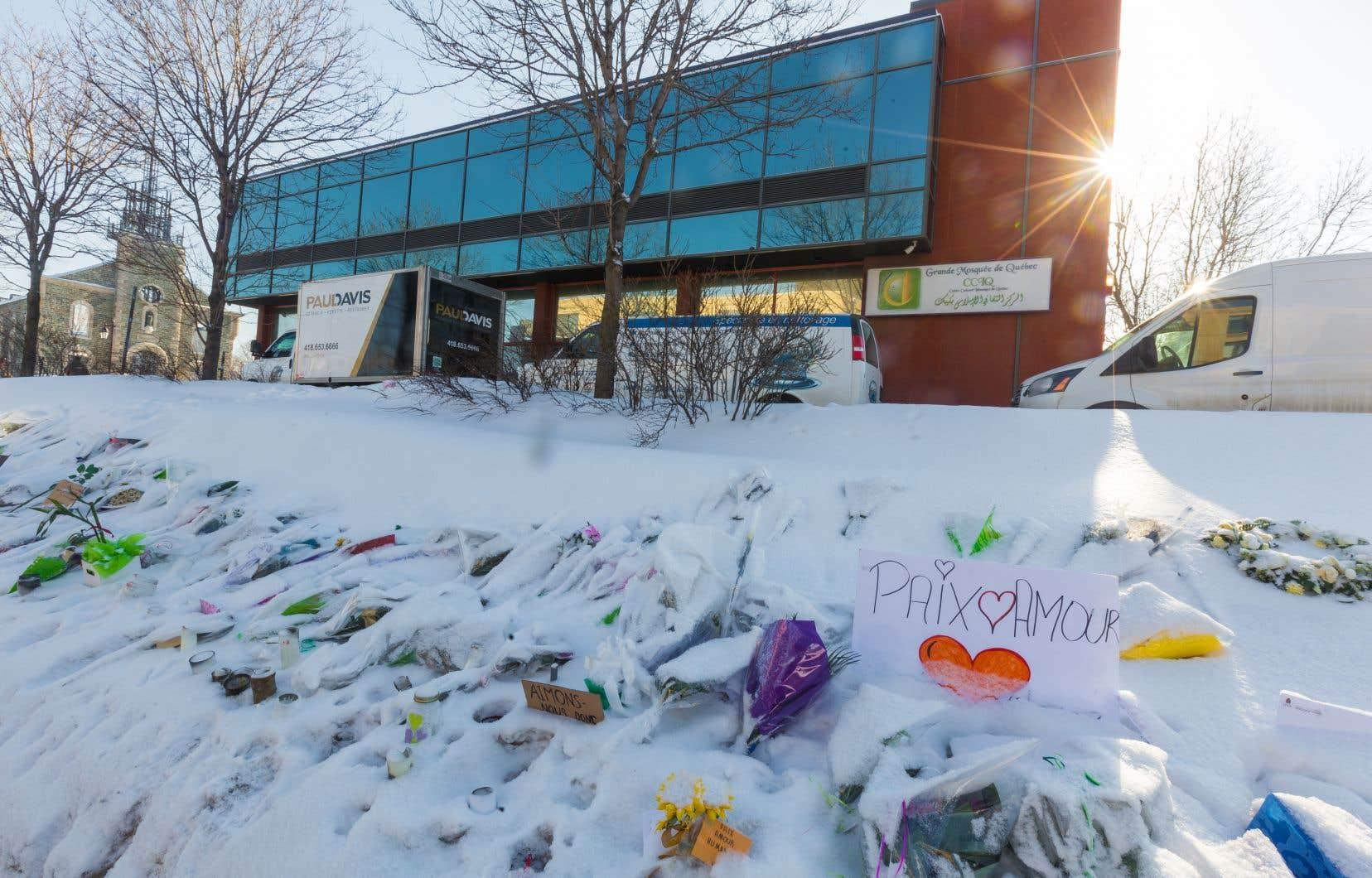 Les demandes d'aide ont explosé après l'attentat à la mosquée de Québec.