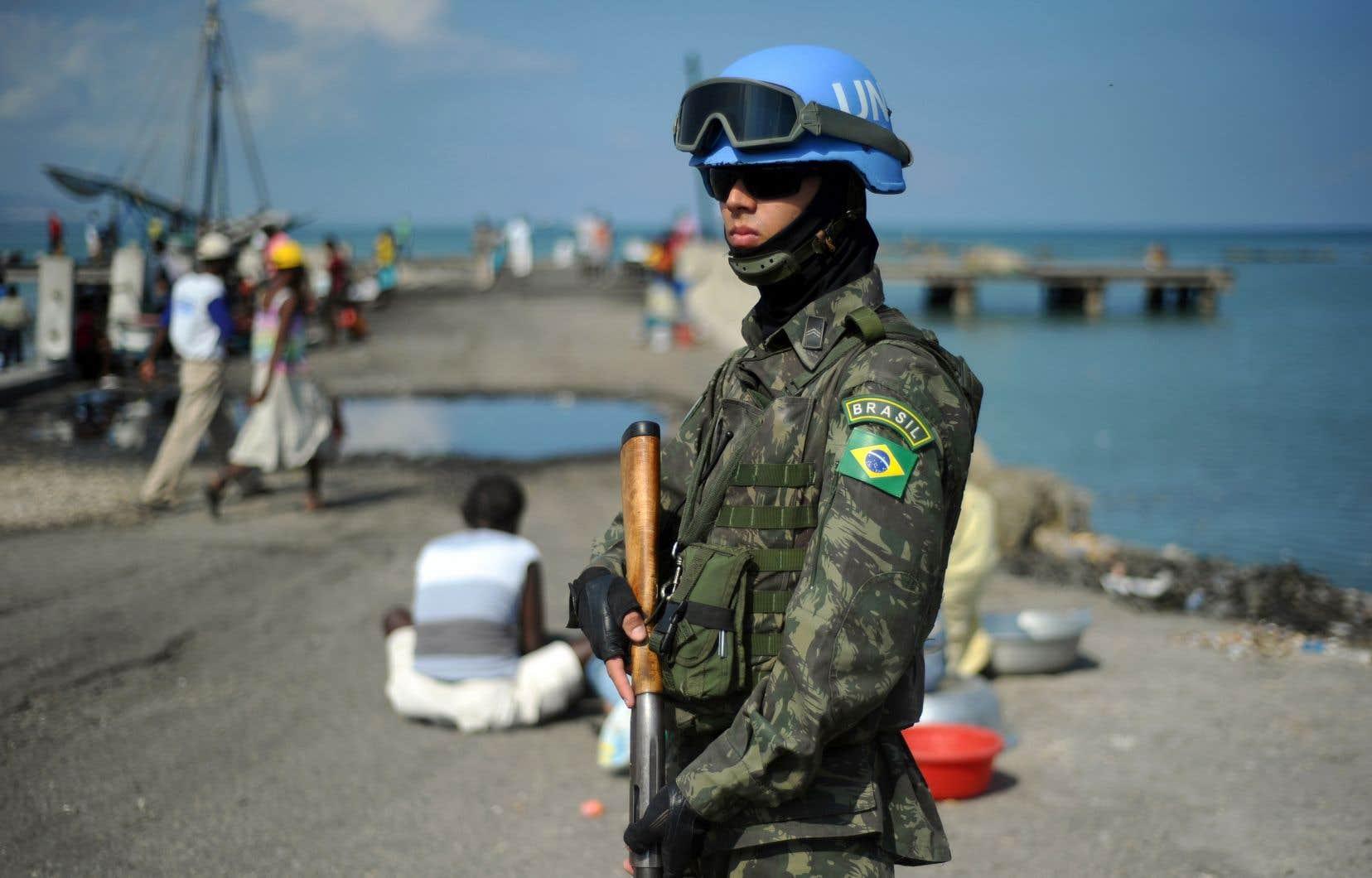 La Minustah avait été déployée en 2004 après l'éviction du président Jean-Bertrand Aristide.