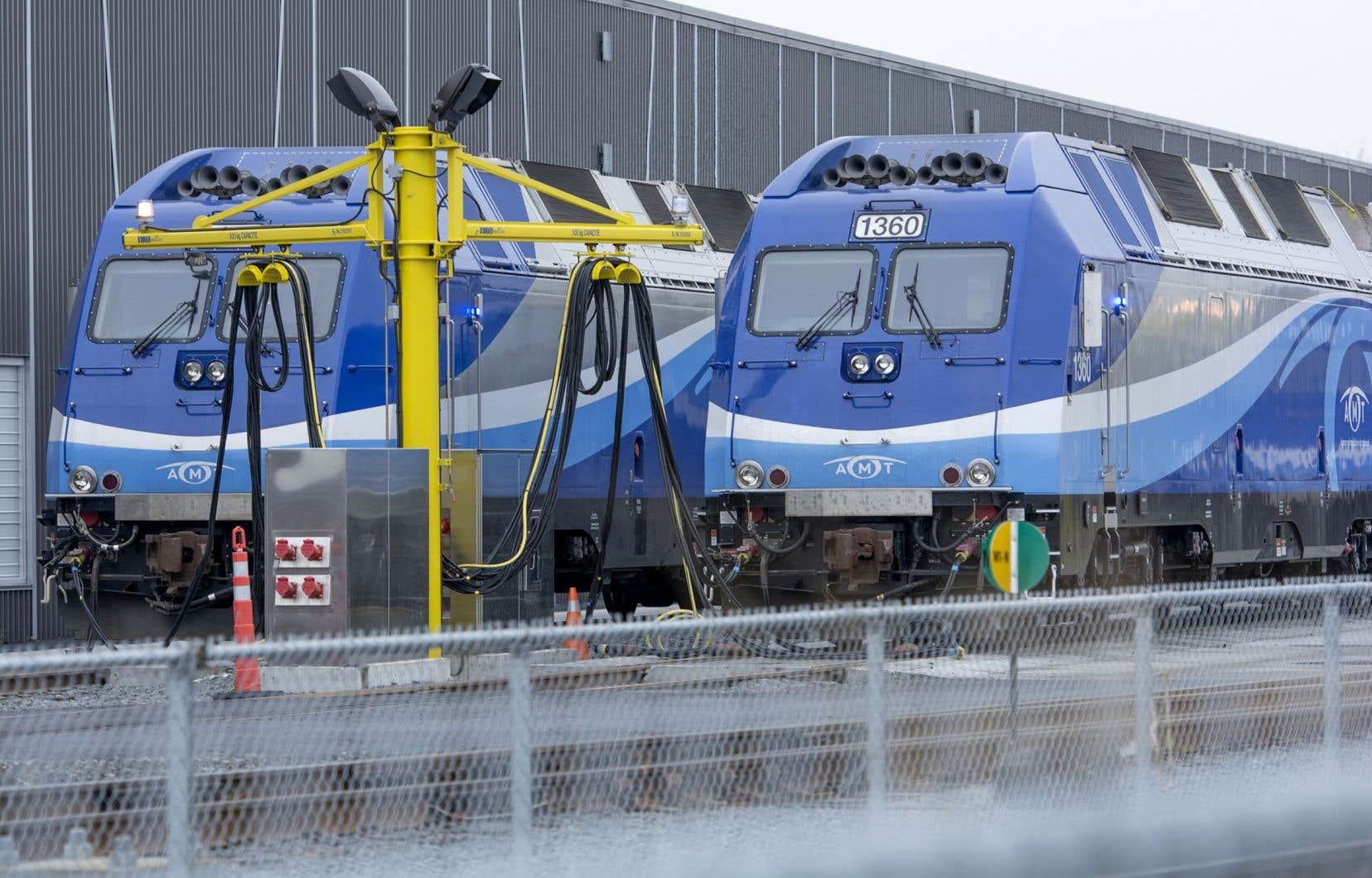 Les employés du CN et du CP ont longtemps conduit les trains de l'Agence métropolitaine de transport, devenue cet été le Réseau de transport métropolitain.