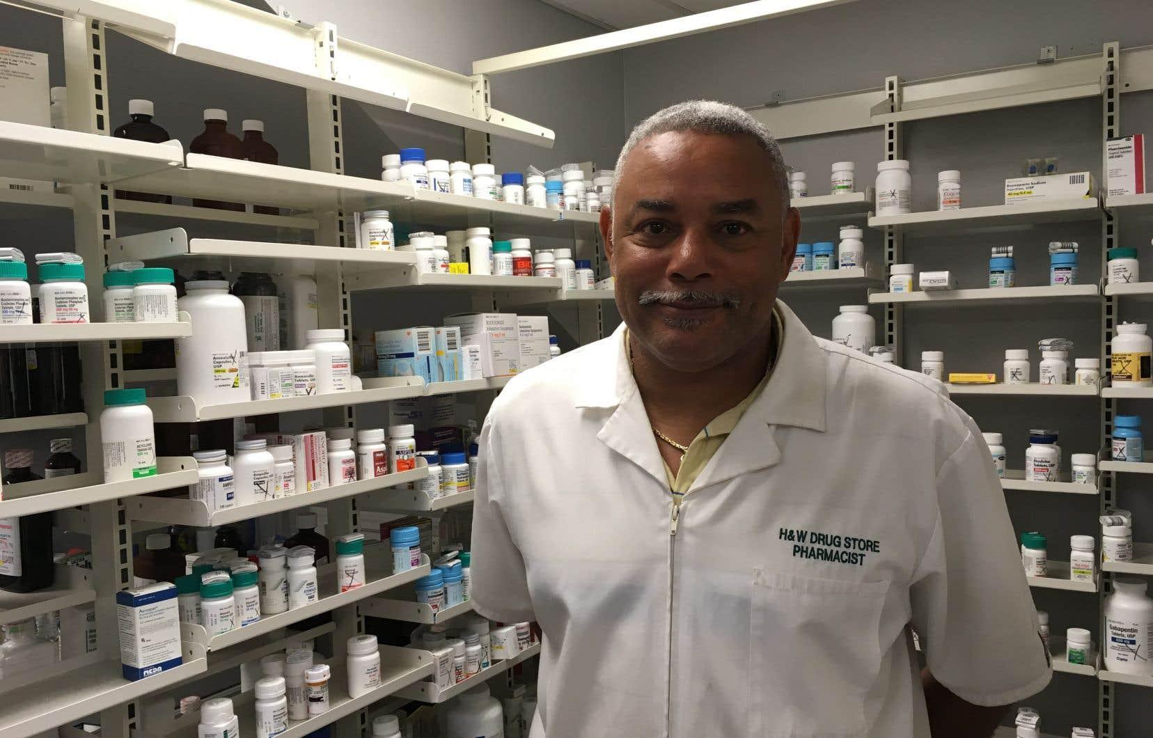 Le pharmacien Ruston Henry