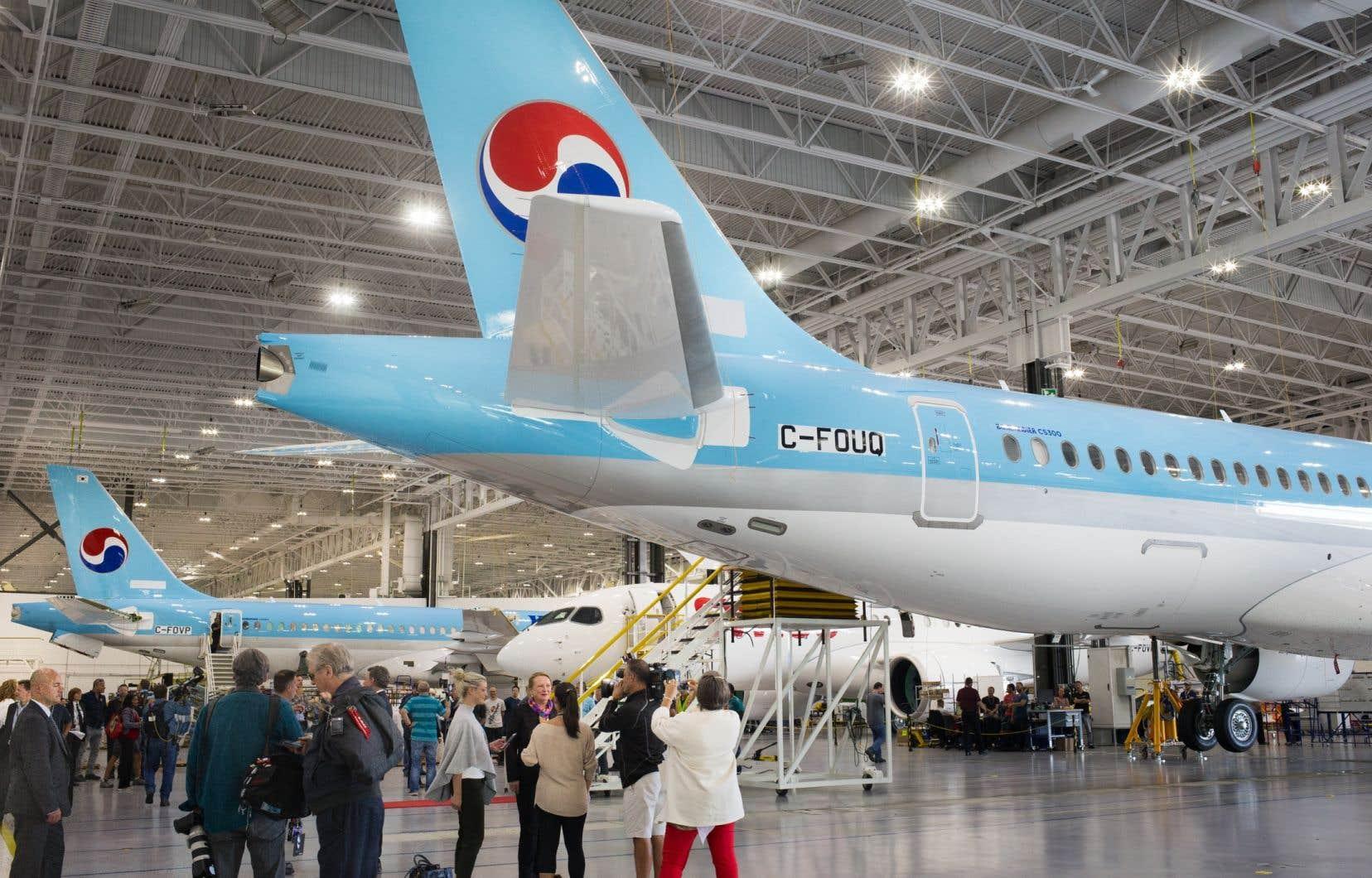 Selon l'entente conclue lundi, le siège de la production du programme phare de Bombardier restera au Québec.