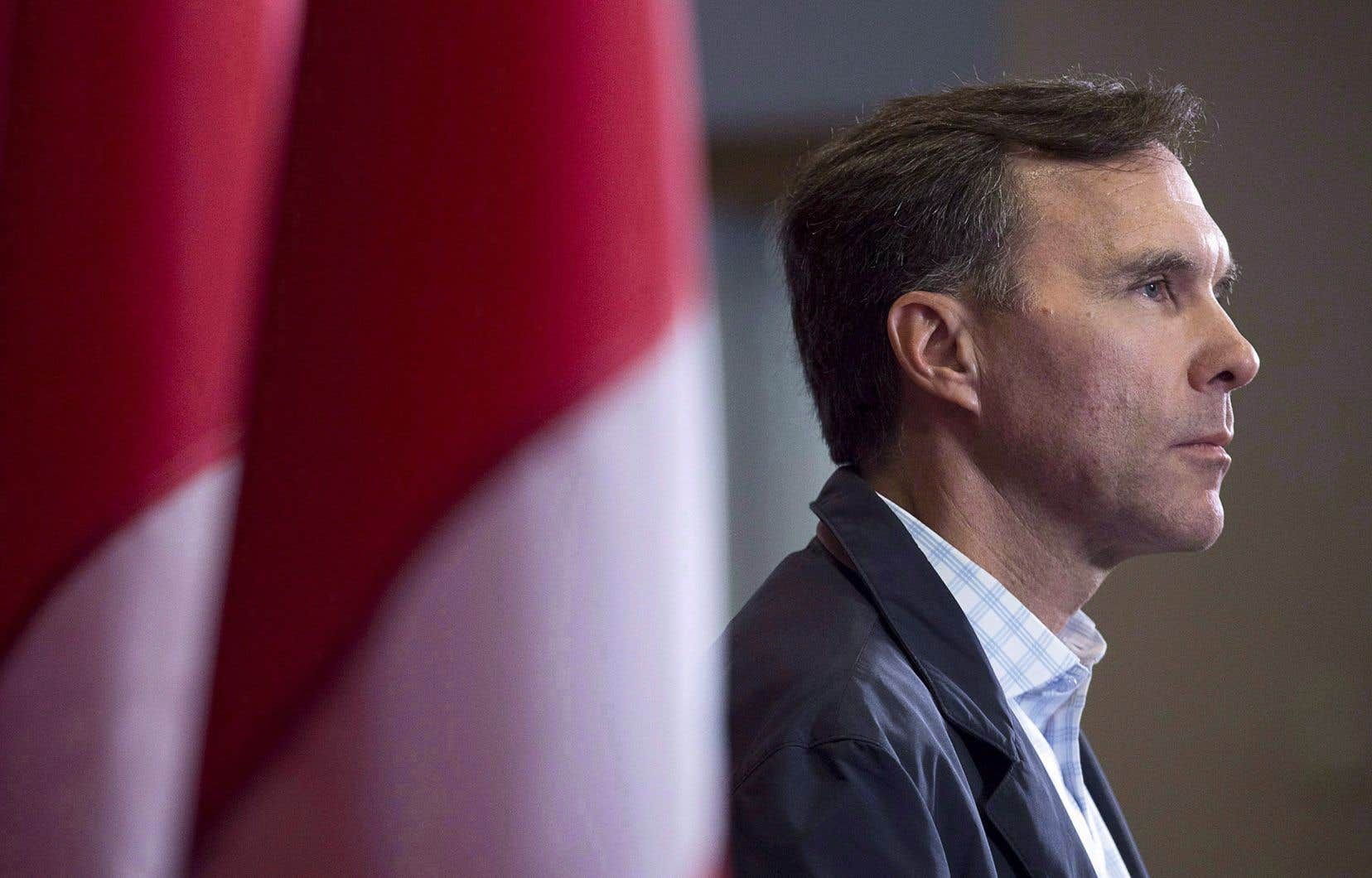 Le ministre canadien des Finances, Bill Morneau
