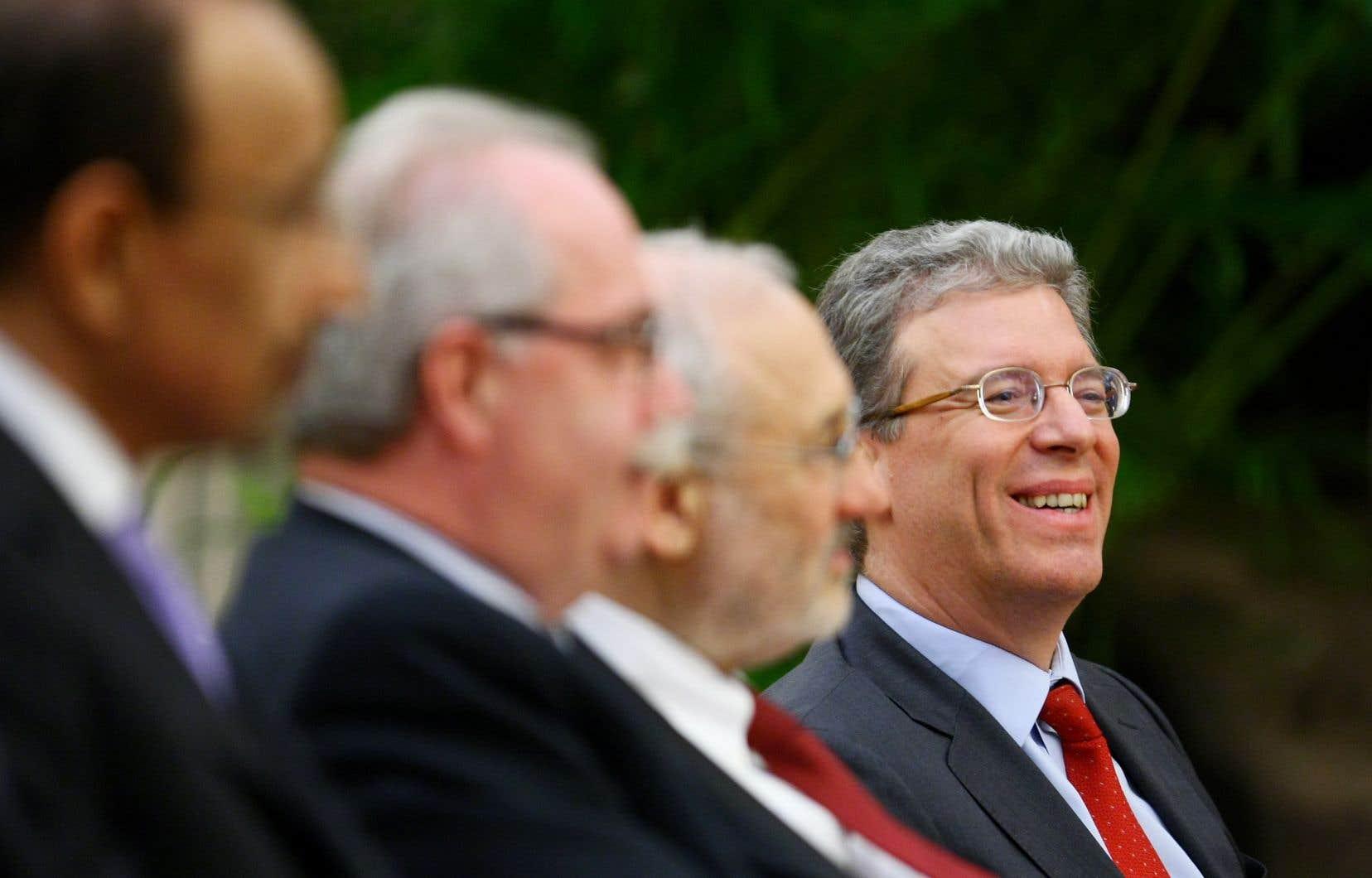 L'ex-dirigeant de Rio Tinto, Thomas Albanese, en Chine en 2010