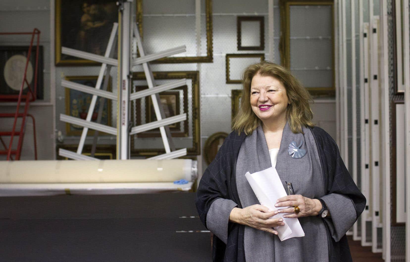 Suzanne Sauvage, présidente et chef de la direction du Musée McCord