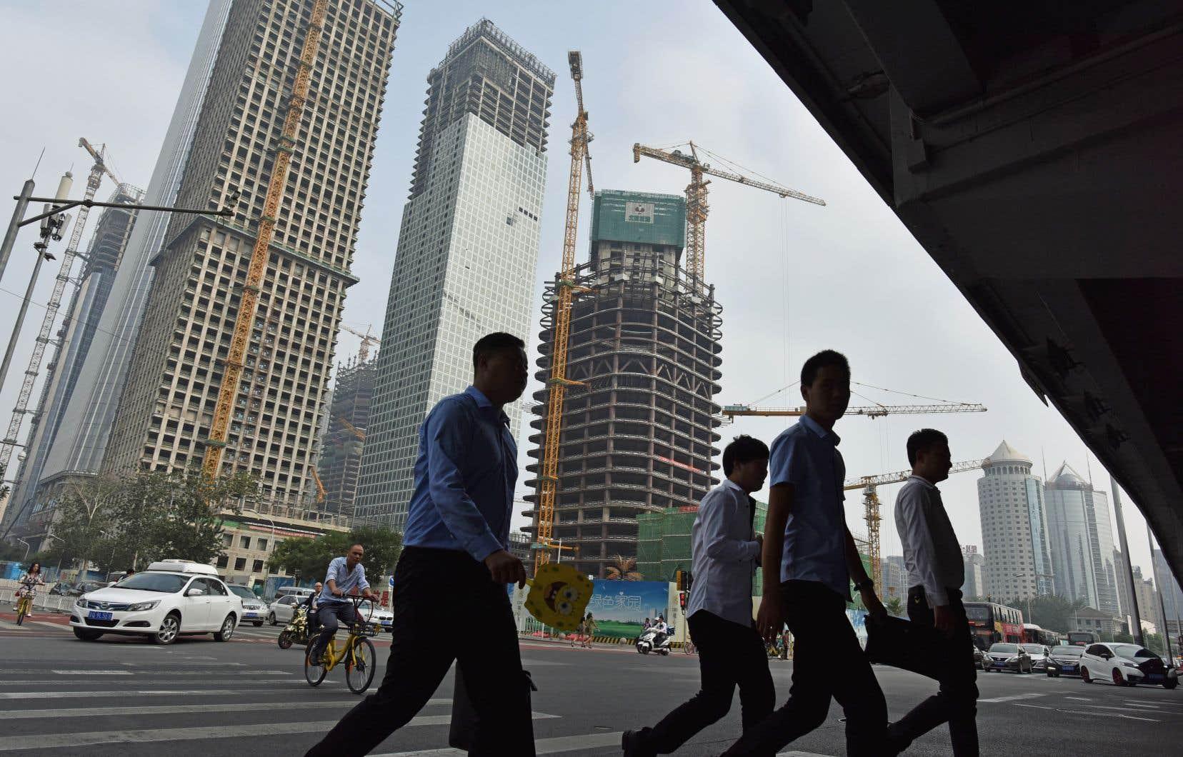 Outre des exportations revigorées, la Chine a profité en septembre d'un regain de la demande intérieure.