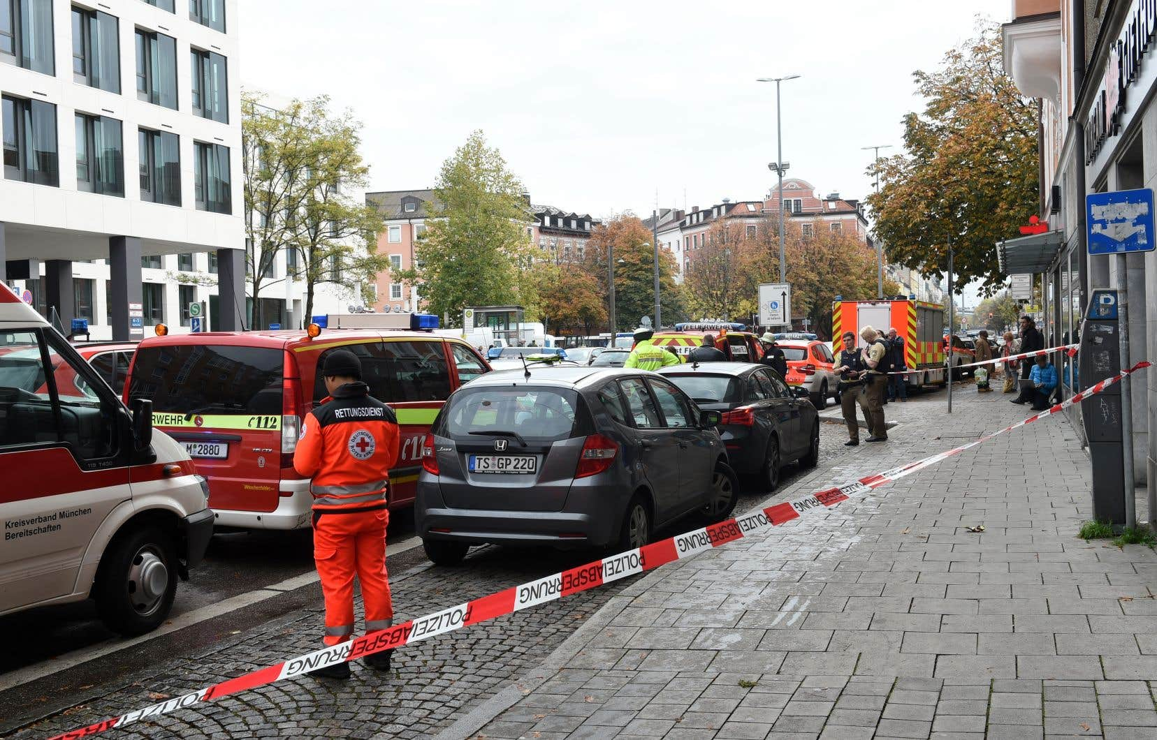 Les agressions ont eu lieu dans les environs de la Rosenheimer Platz, à l'est du centre-ville.