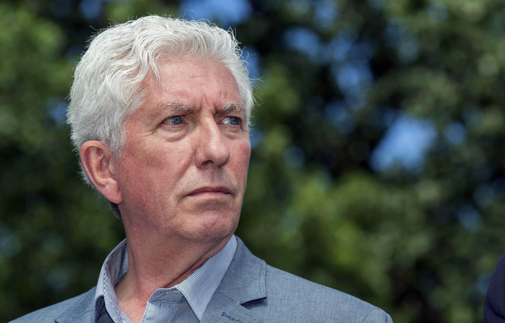 L'ex-chef du Bloc québécois Gilles Duceppe
