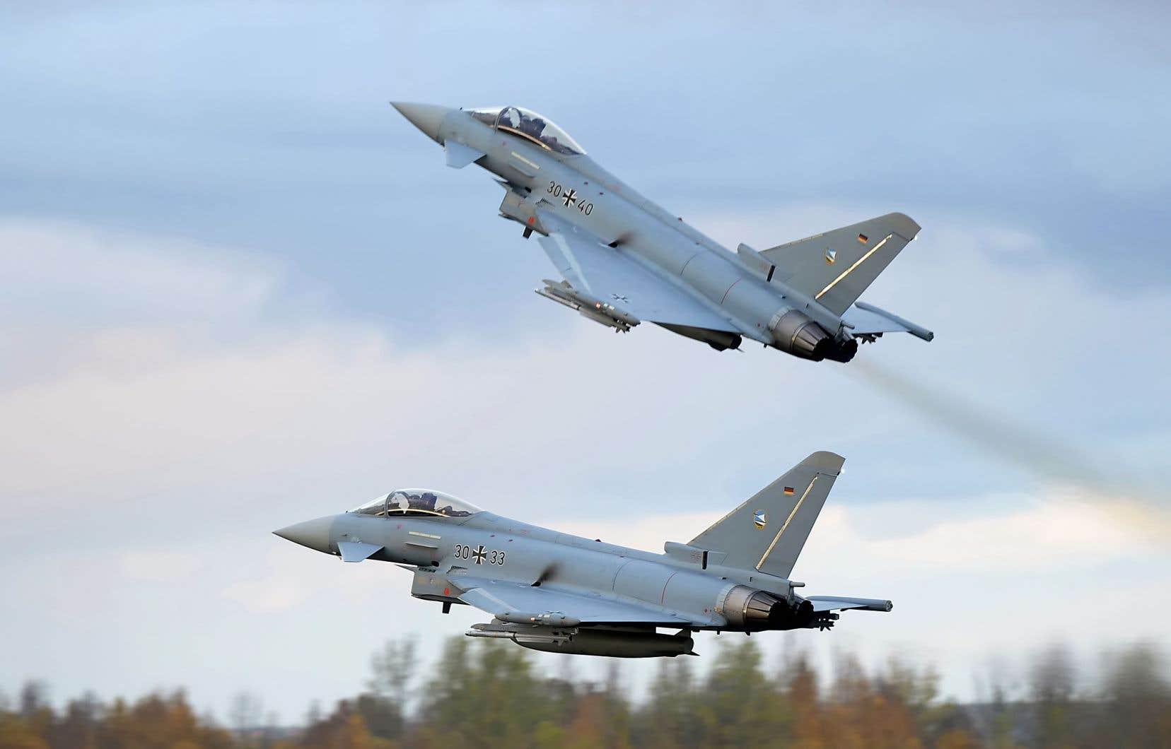 L'Autriche, l'Arabie saoudite, Oman, le Koweït et l'Italie ont déjà obtenu ou commandé des appareils Eurofighter Typhoon d'Airbus.