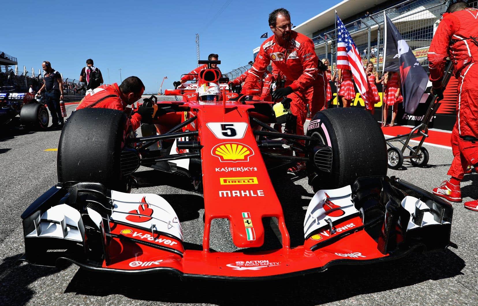 Même lorsque Sebastian Vettel a terminé deuxième, le rugissement menaçant du moteur Ferrari en début de saison n'était plus qu'un faible ronronnement lointain.