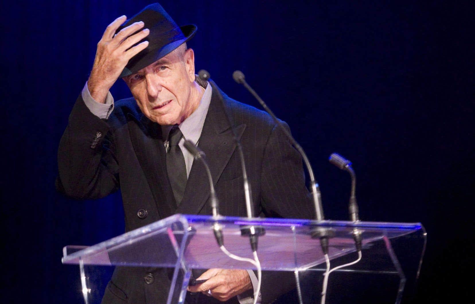 Leonard Cohen est mort le 7 novembre 2016 à l'âge de 82 ans.