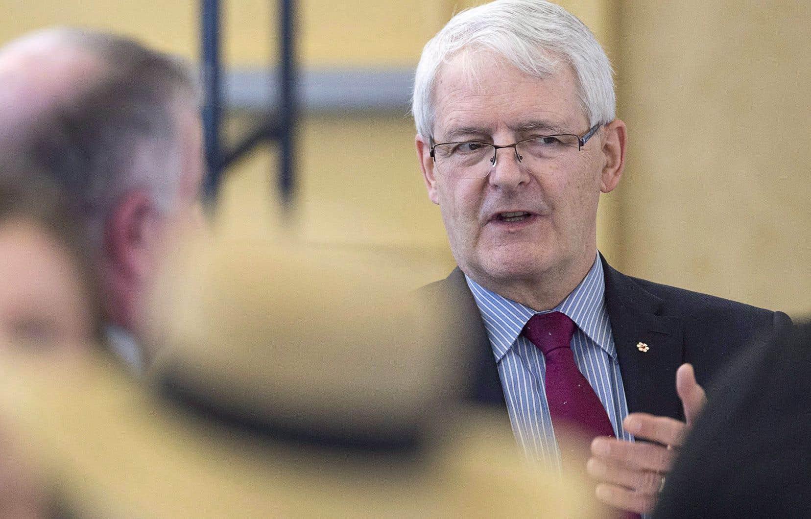 Le ministre des Transports, Marc Garneau