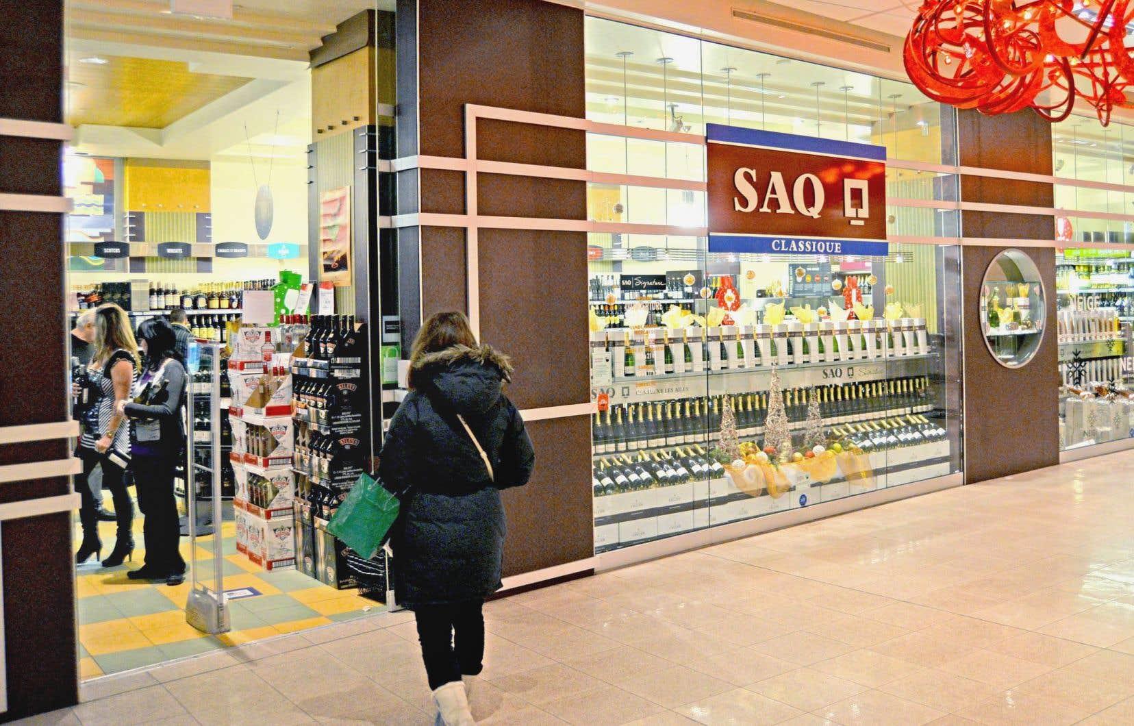 Les ventes de la SAQ ont grimpé de 2%.