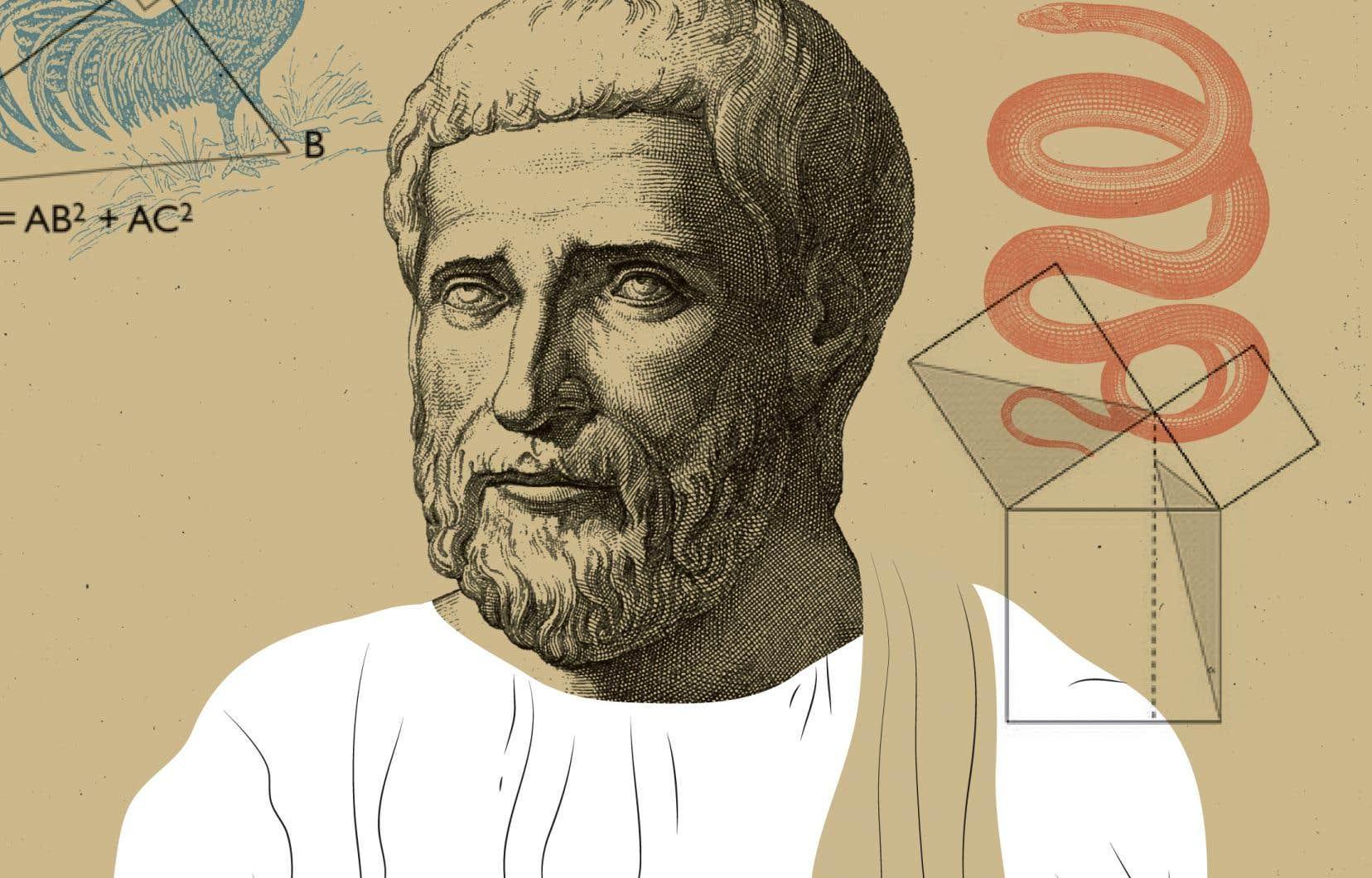 La douceur de Pythagore envers les animaux est très souvent évoquée, que ce soit chez Platon, Ovide ou Sénèque. On dit que le philosophe évitait de leur faire du mal, qu'il déplorait la violence envers eux.