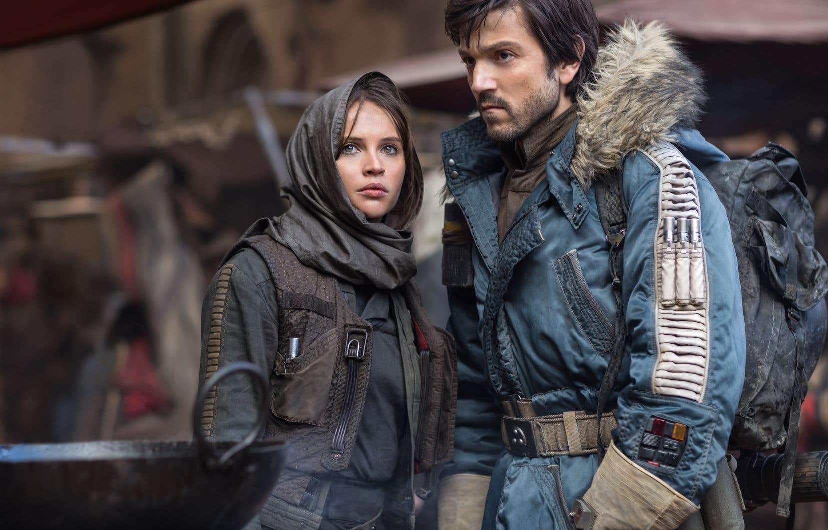 Avec «Rogue One, une histoire de Star Wars», on sent une volonté d'afficher plus de diversité.