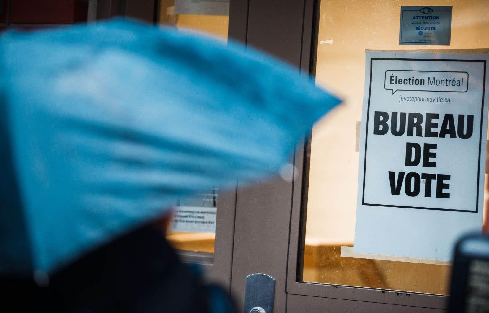 À Montréal, en 2013, 7,75% des électeurs s'étaient prévalus du droit de vote par anticipation.