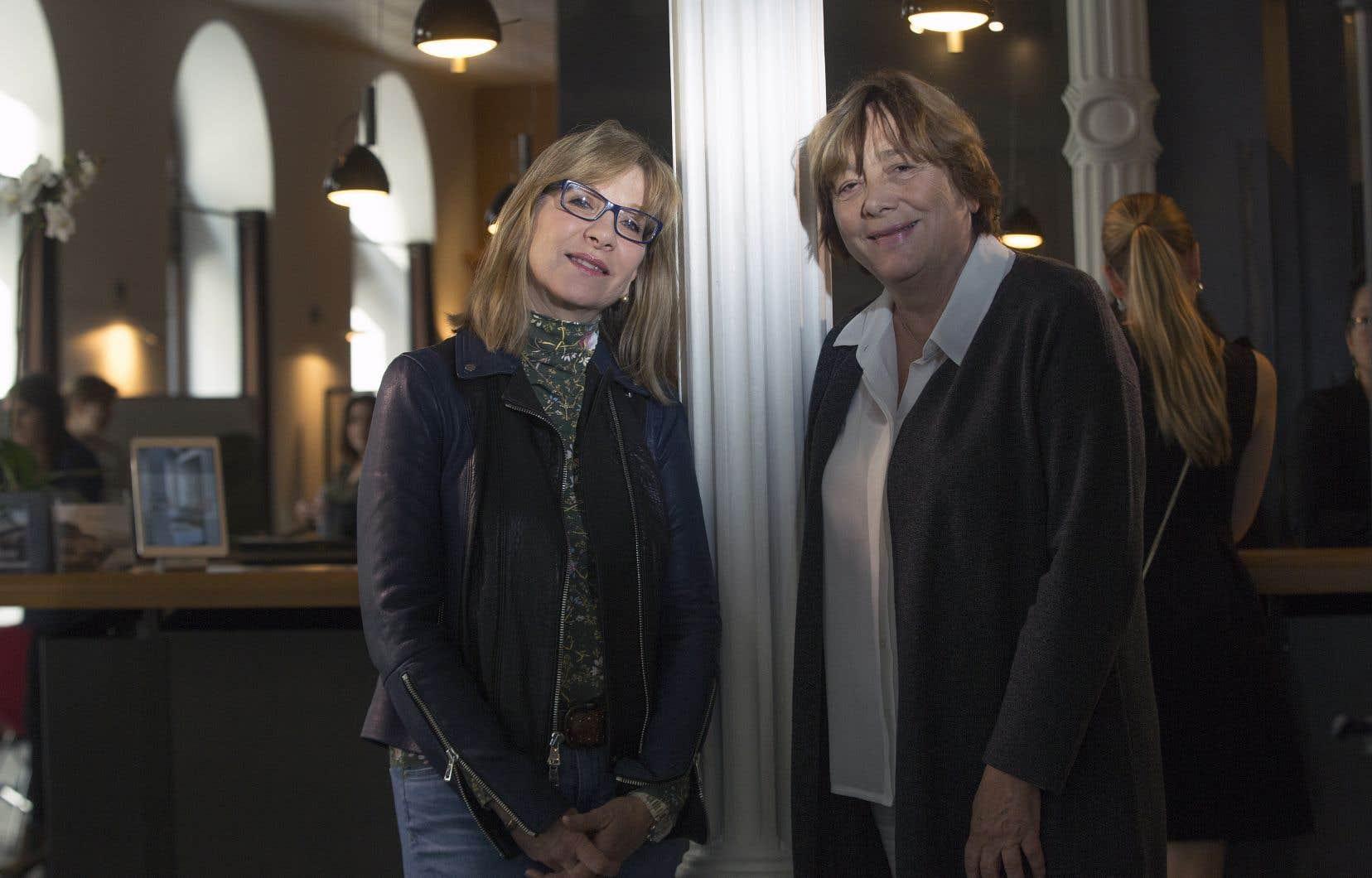 La productrice Denise Robert et la réalisatrice Léa Pool ont travaillé ensemble pour le documentaire «Double peine».