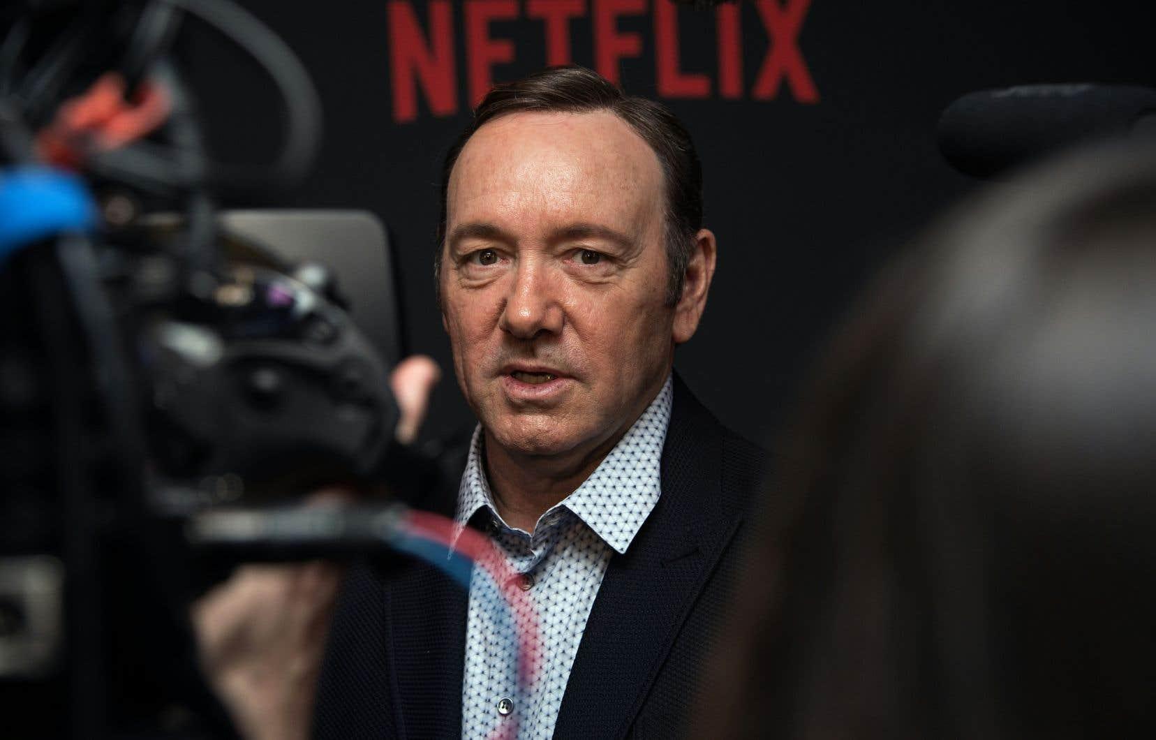 L'acteur Kevin Spacey, lors du lancement de la plus récente saison de «House of Cards»
