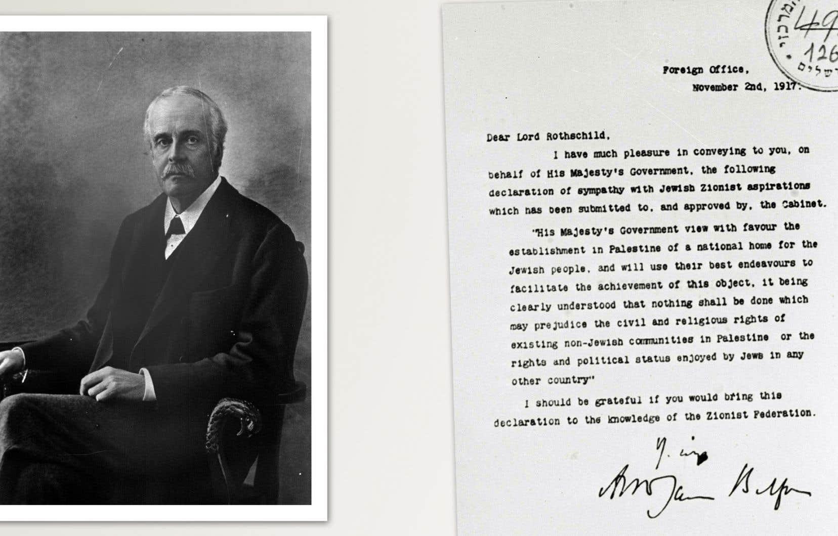 Selon l'auteur, la Déclaration Balfour est la quintessence et l'expression la plus achevée des procédés colonialistes.