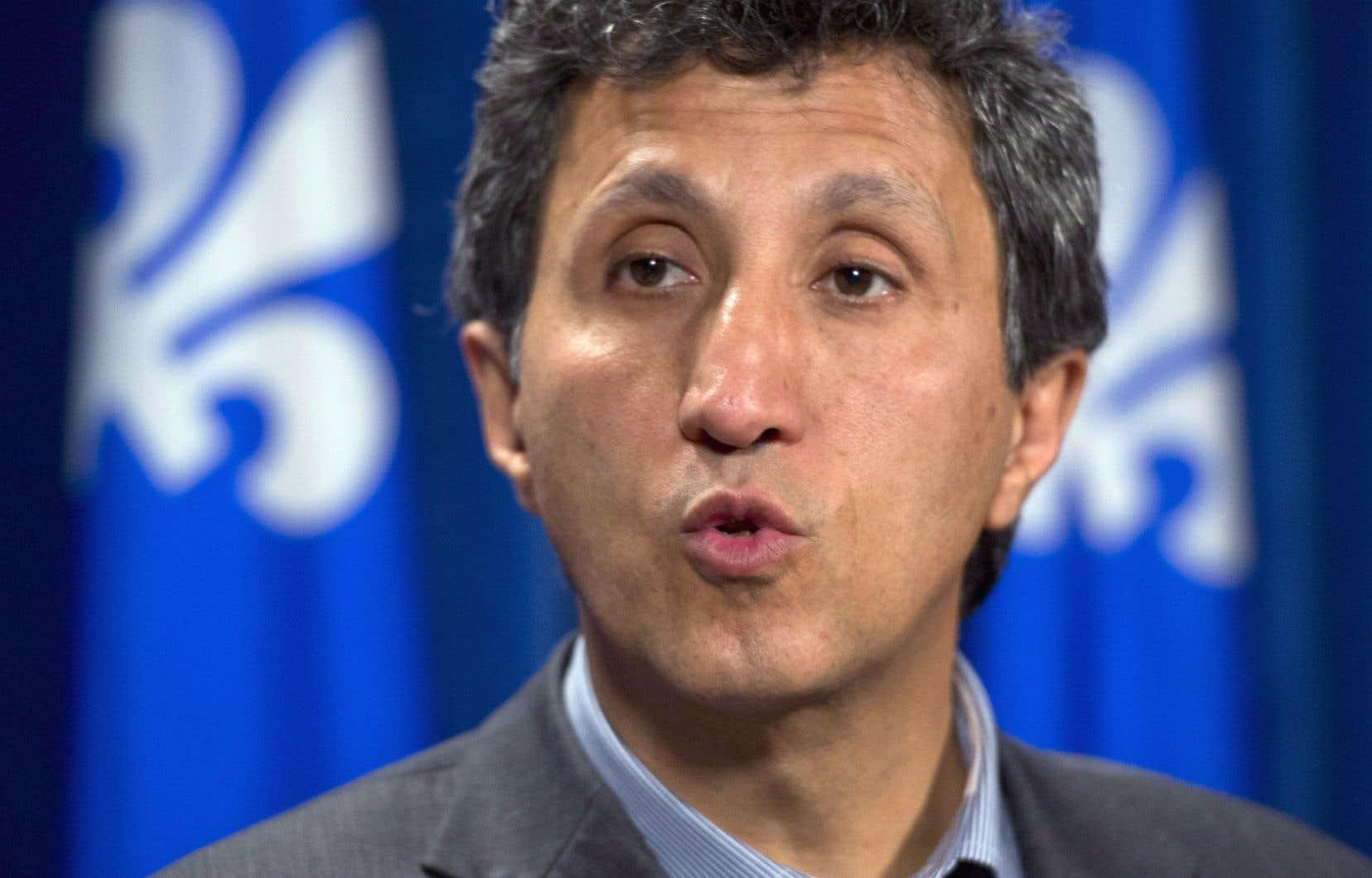Le député de Mercier, Amir Khadir