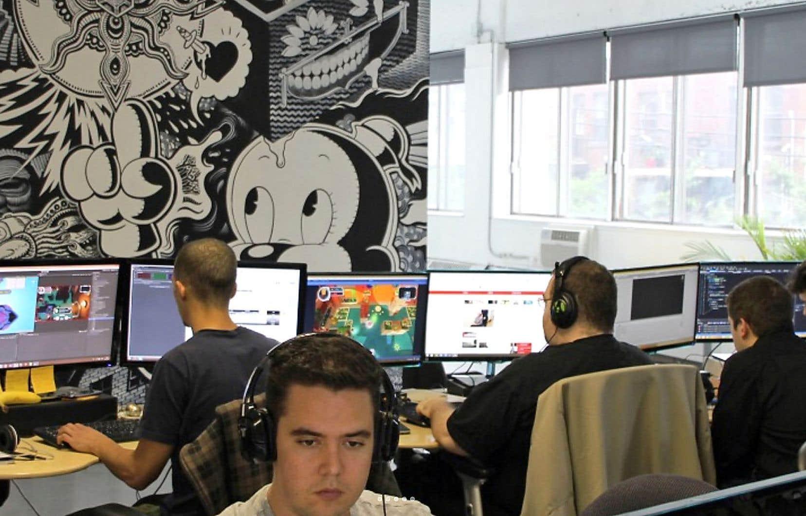 Le studio indépendant en jeux vidéo iLLOGIKA, basé à Montréal, compte quelque 45 employés.