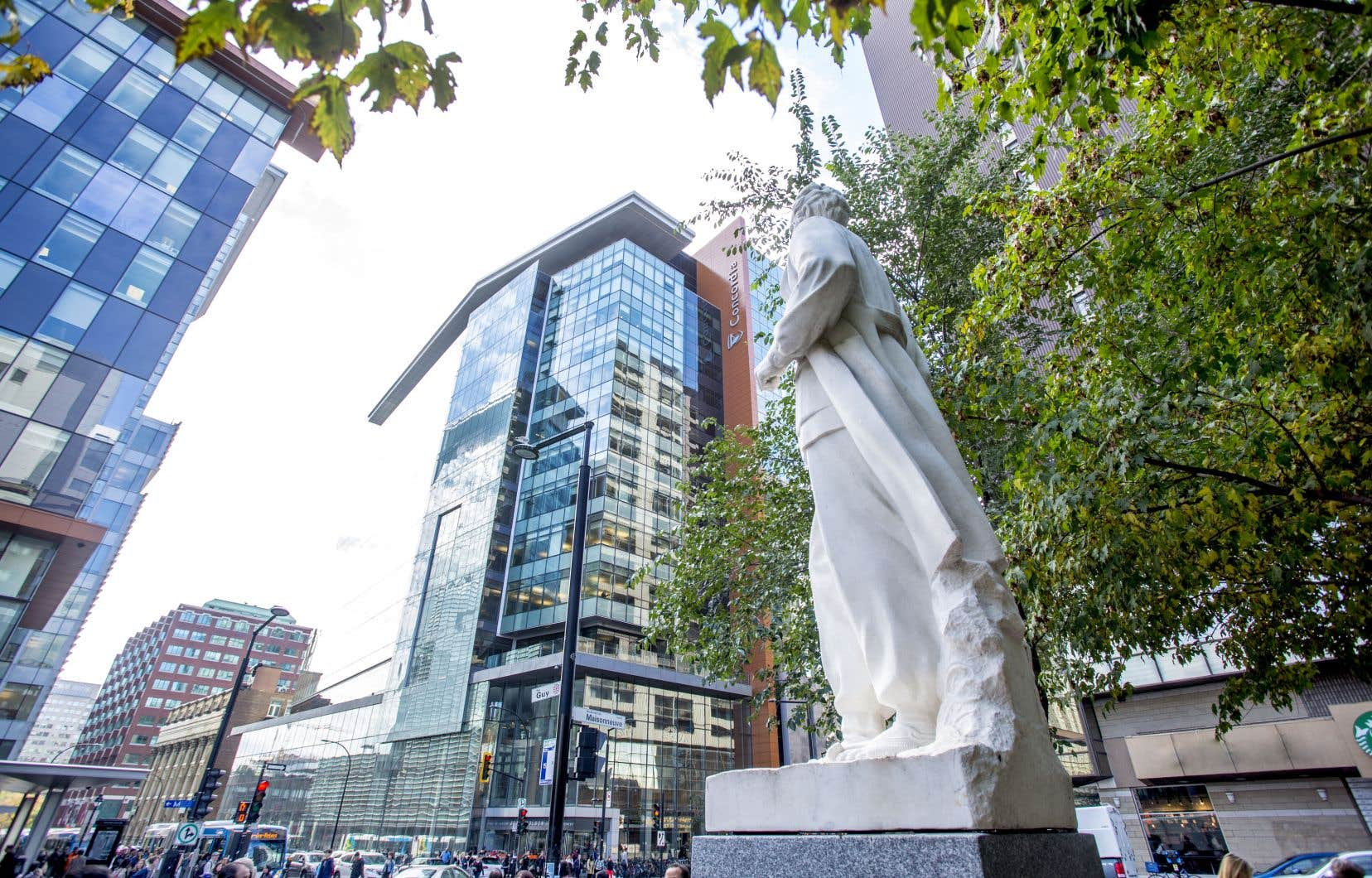 L'emplacement du campus principal de l'Université Concordia en plein centre-ville de Montréal lui confère un caractère urbain, renforcé par l'un de ses secteurs phares en recherche, la ville et les communautés.