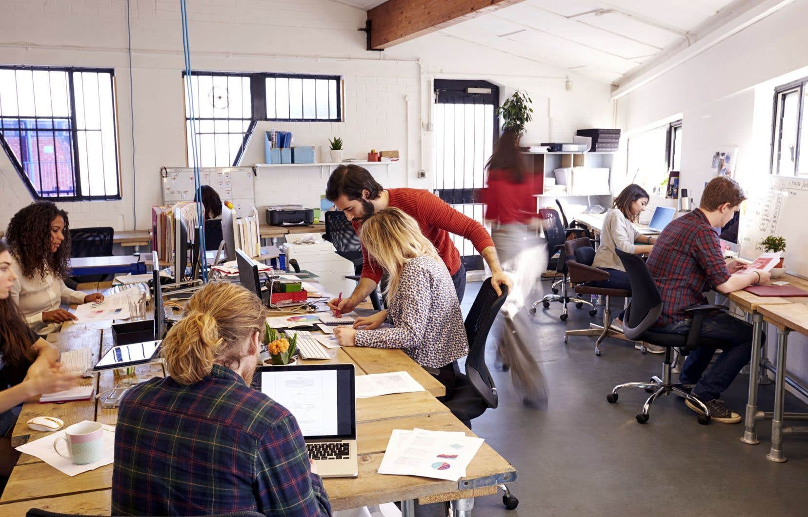 Le nombre d'emplois à temps plein a grimpé de 396 800 pendant que le nombre d'emplois à temps partiel a diminué de 88 700.
