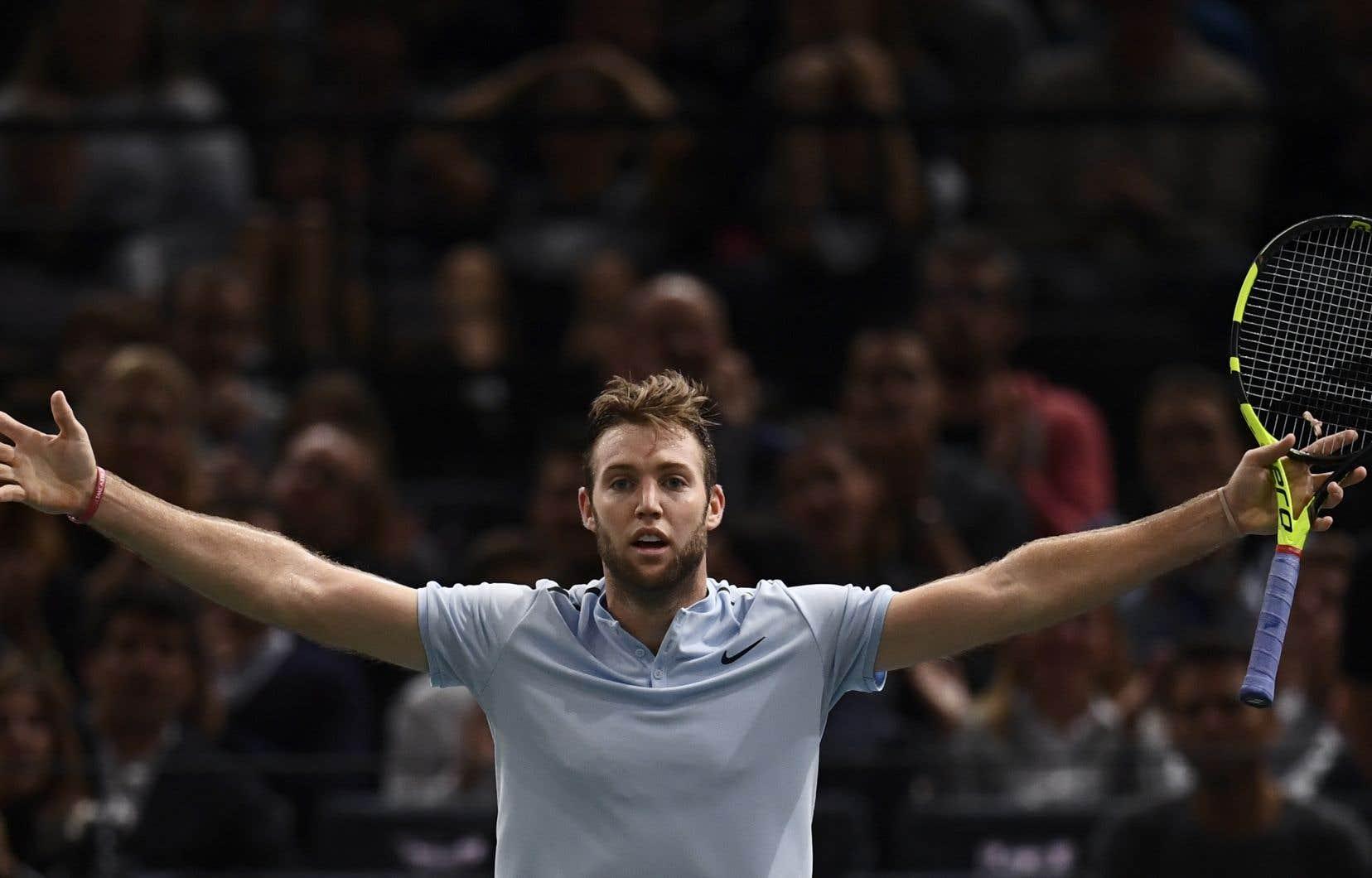 Sock est aussi le premier joueur de tennis américain à s'imposer lors d'un Masters depuis 2010.